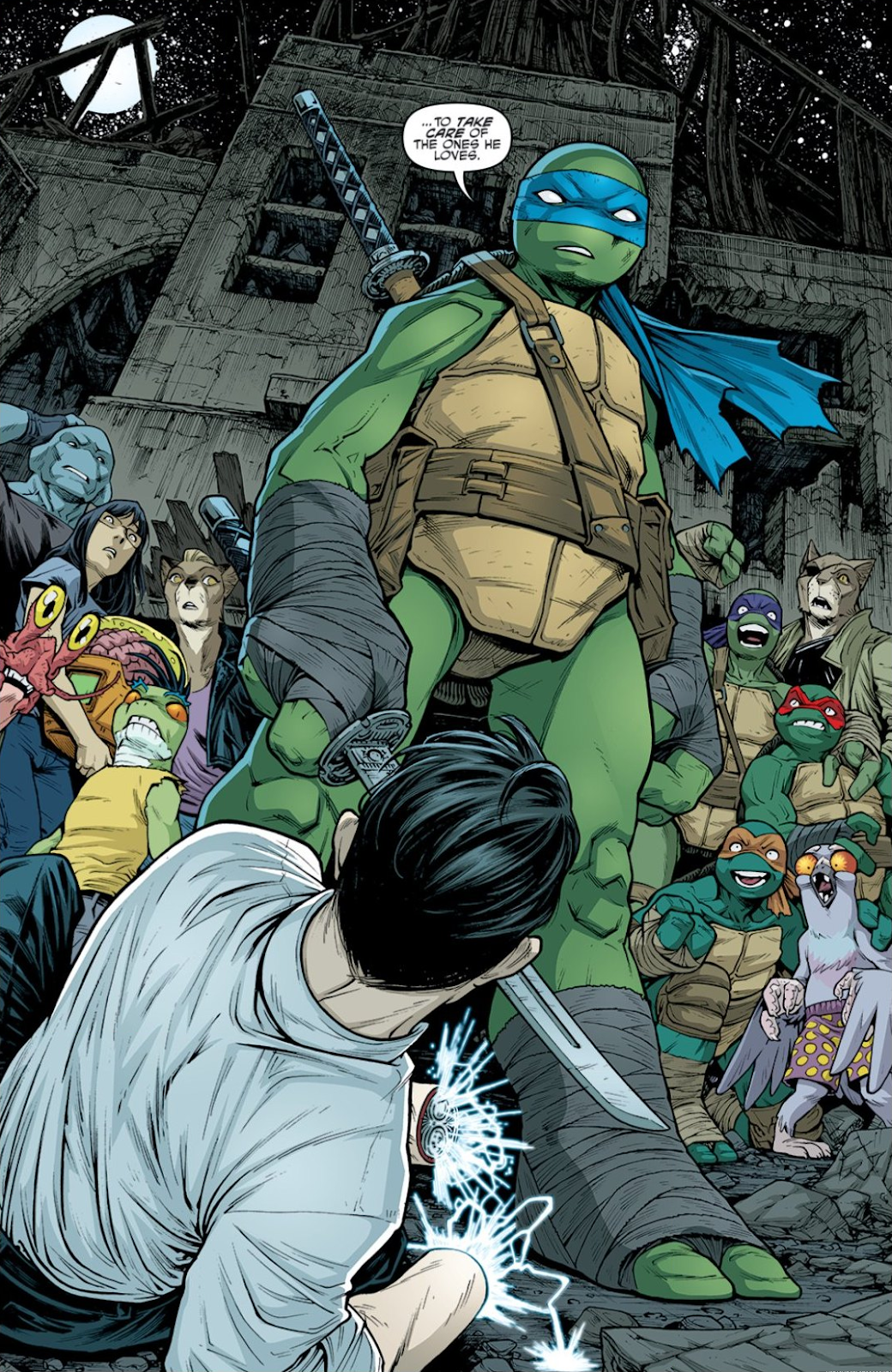 Read online Teenage Mutant Ninja Turtles: The IDW Collection comic -  Issue # TPB 9 (Part 1) - 91