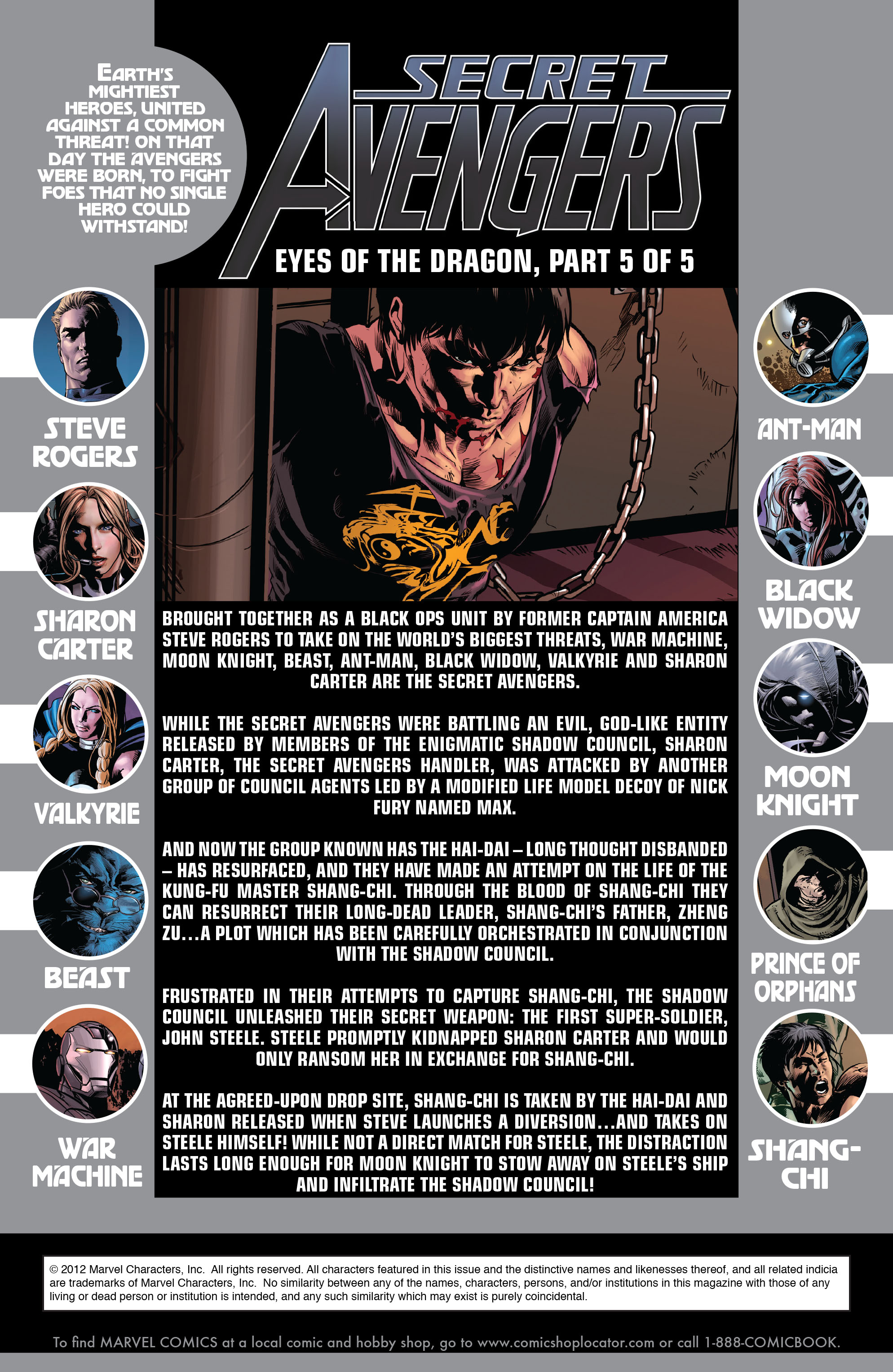Read online Secret Avengers (2010) comic -  Issue #10 - 2