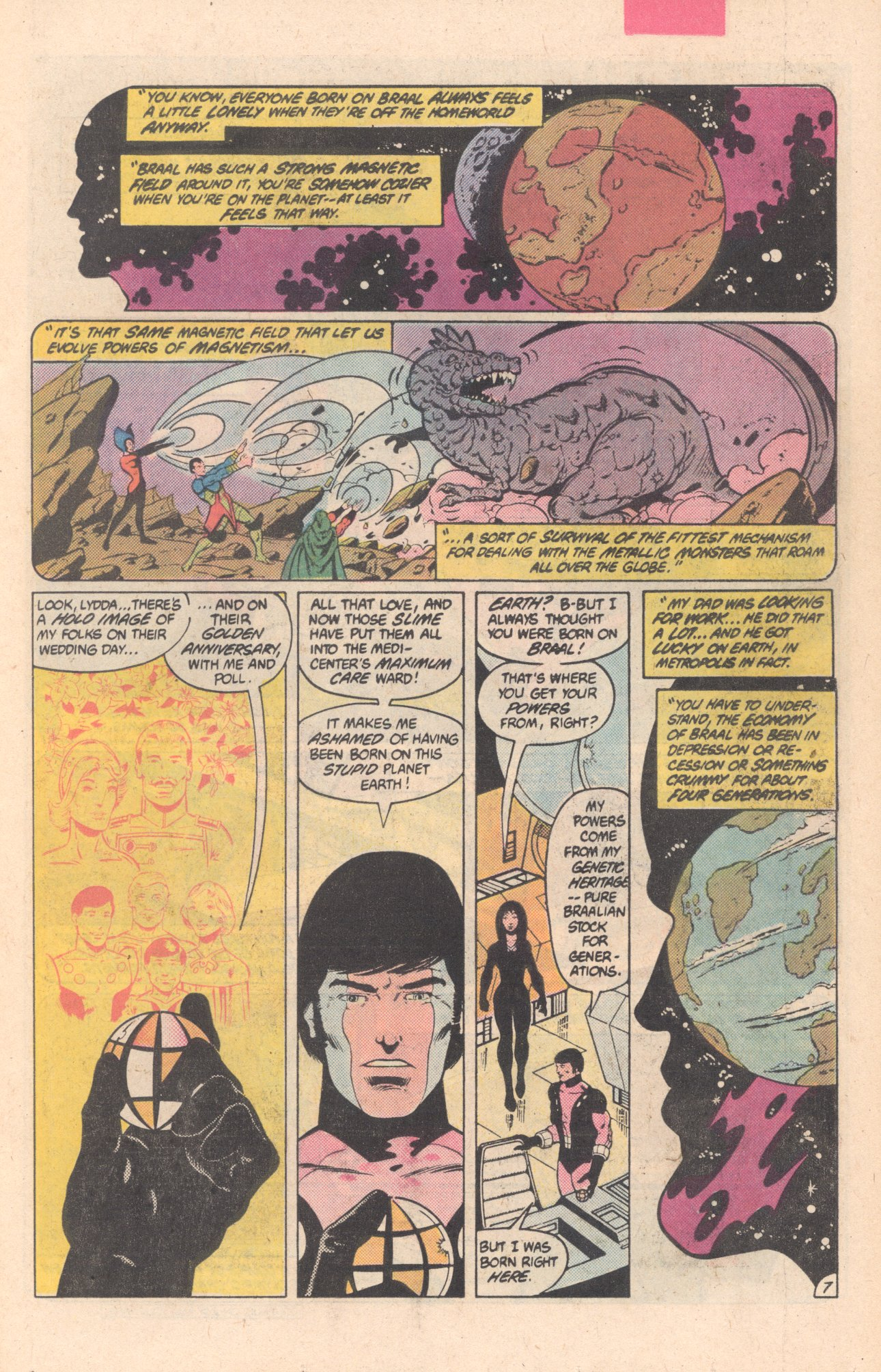 Legion of Super-Heroes (1980) 297 Page 7