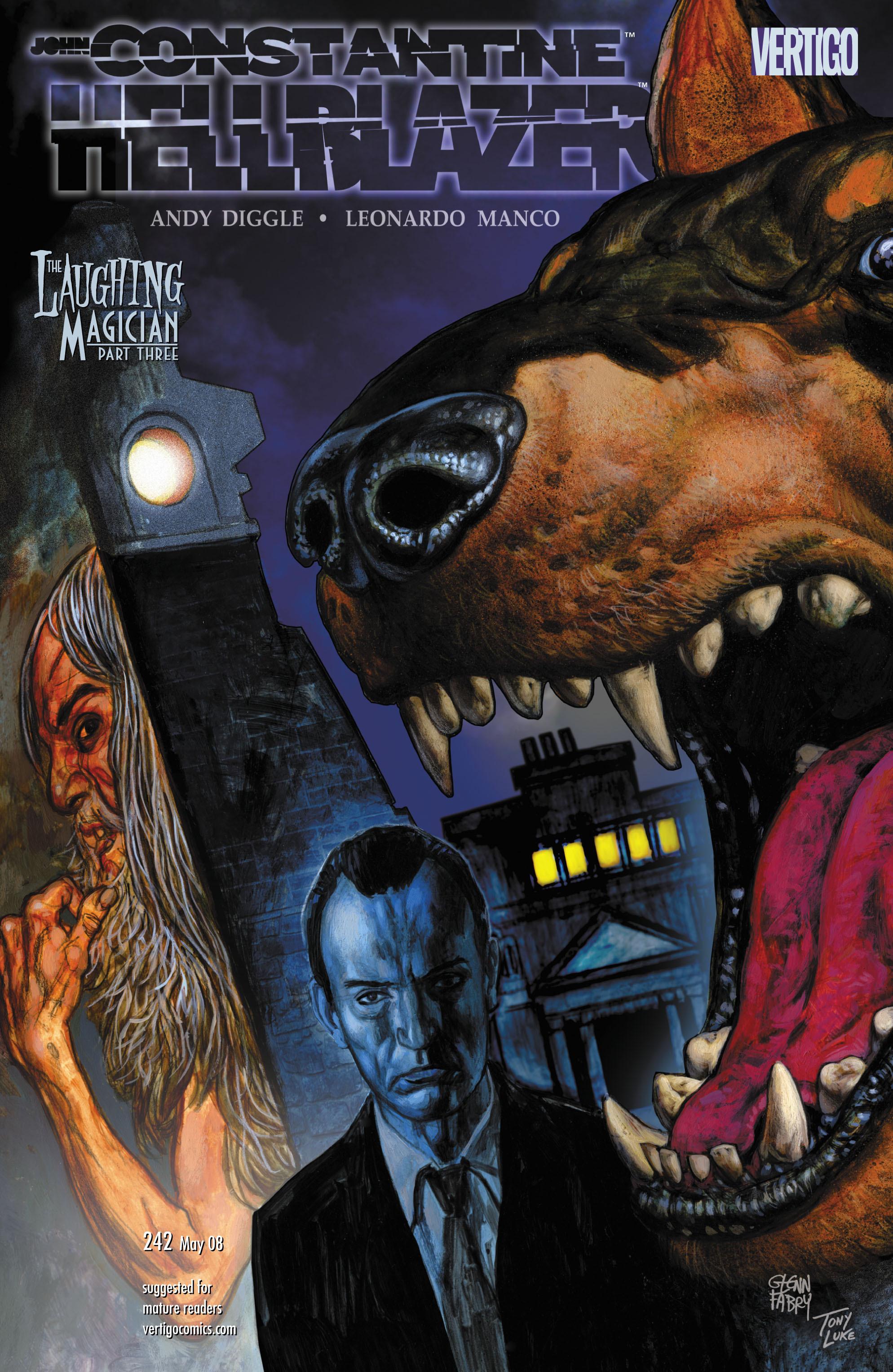 Hellblazer issue 242 - Page 1