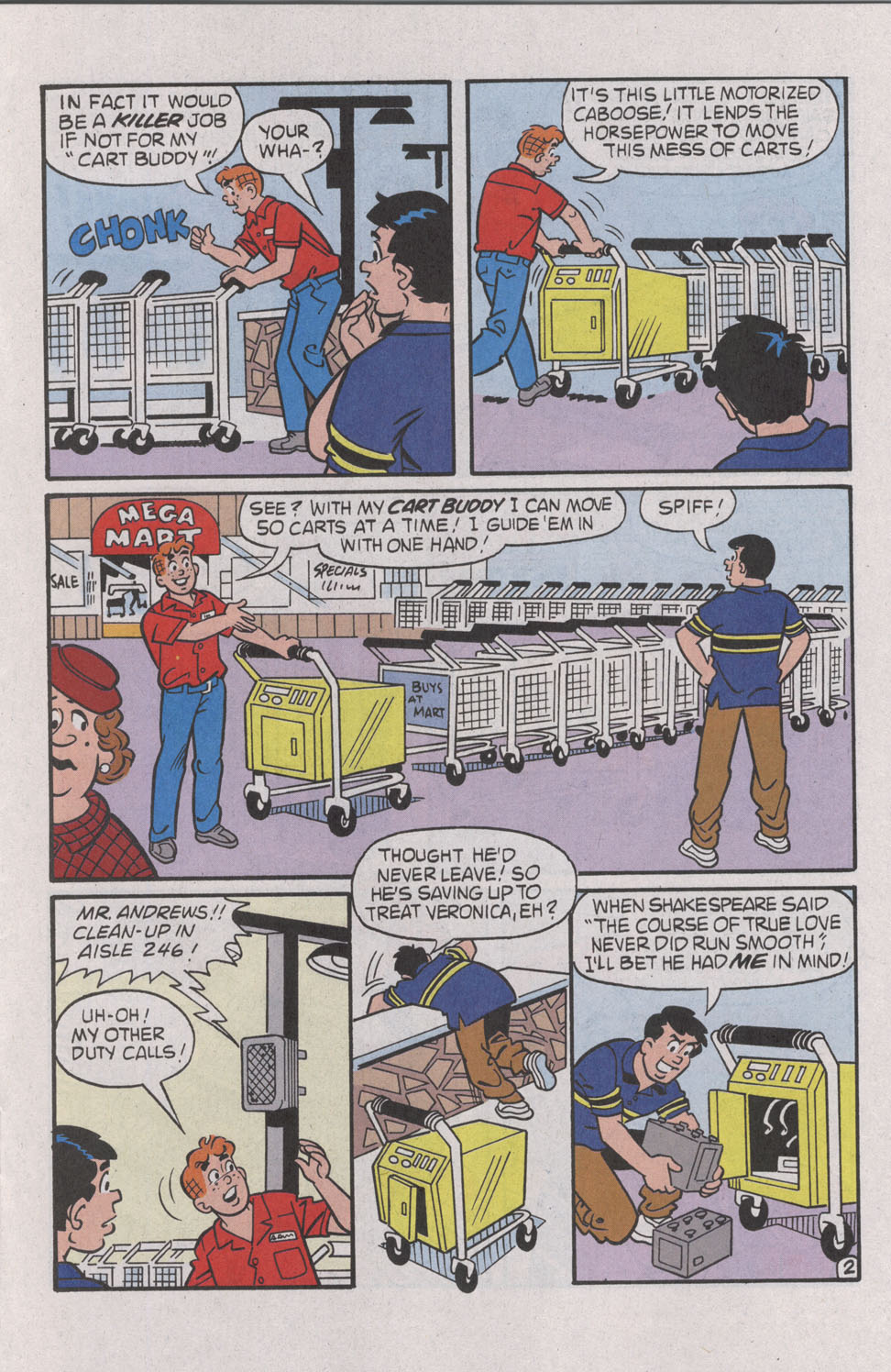 Read online Archie (1960) comic -  Issue #539 - 13
