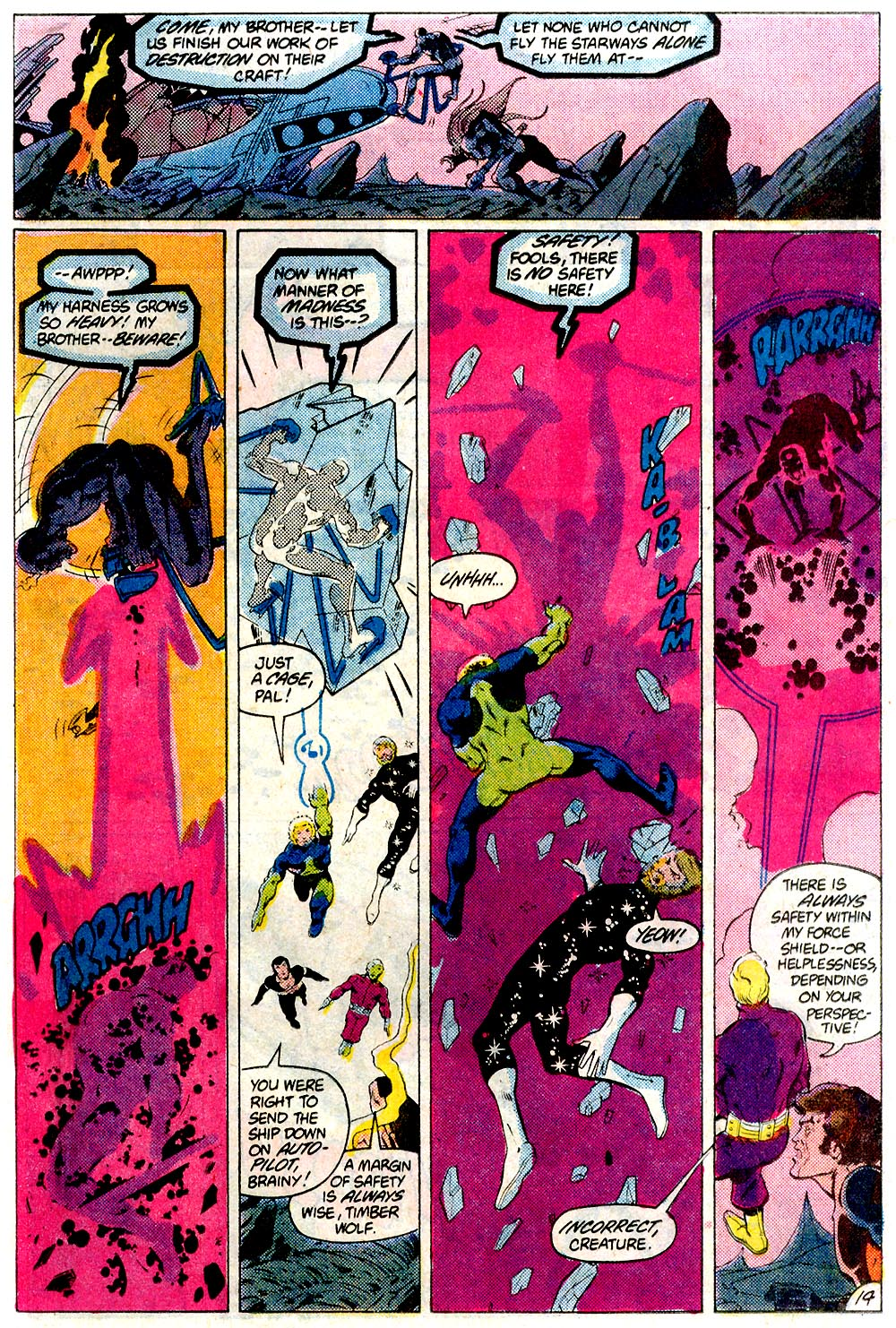 Legion of Super-Heroes (1980) 293 Page 14