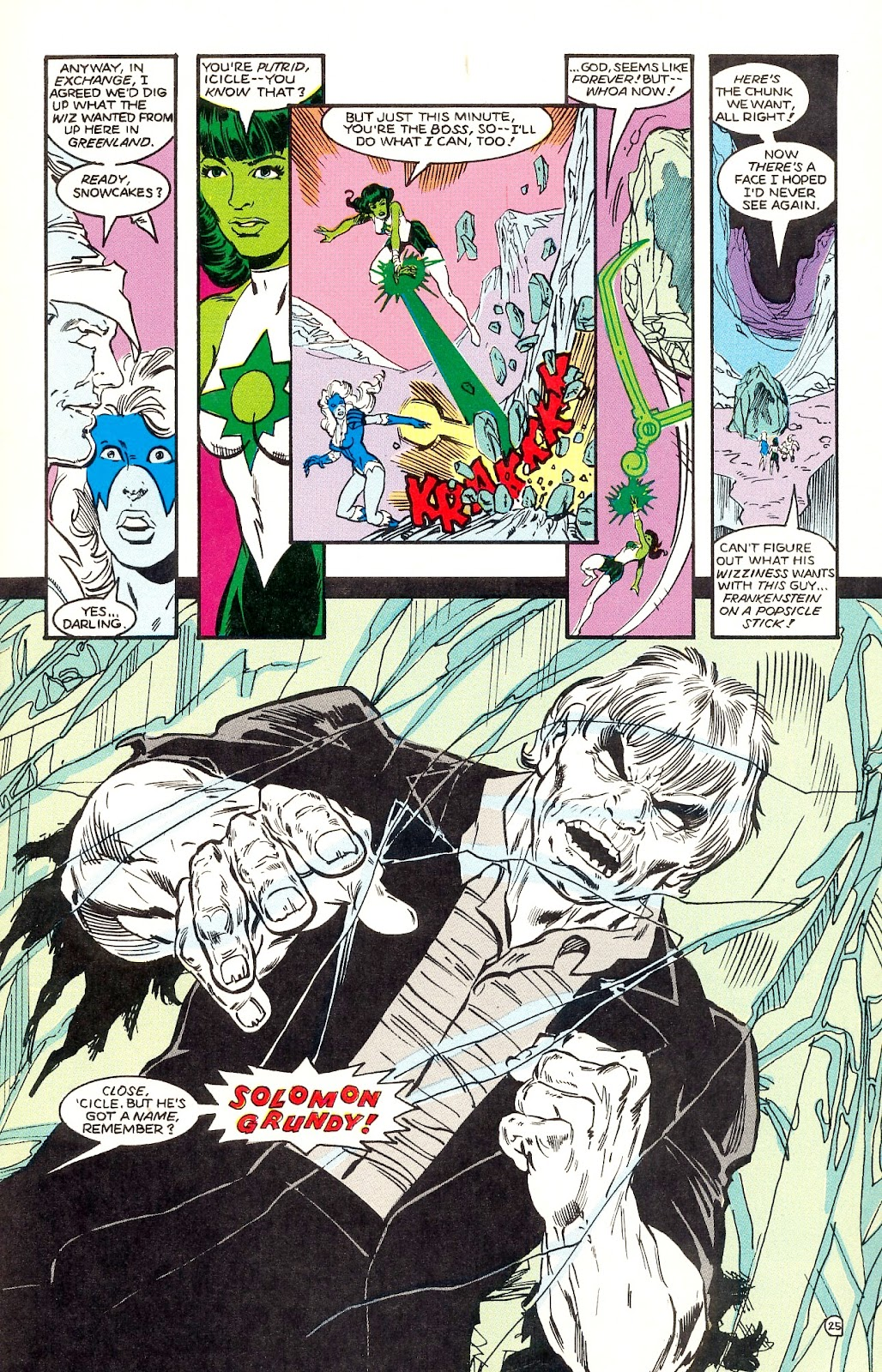 Infinity Inc. (1984) issue 35 - Page 27