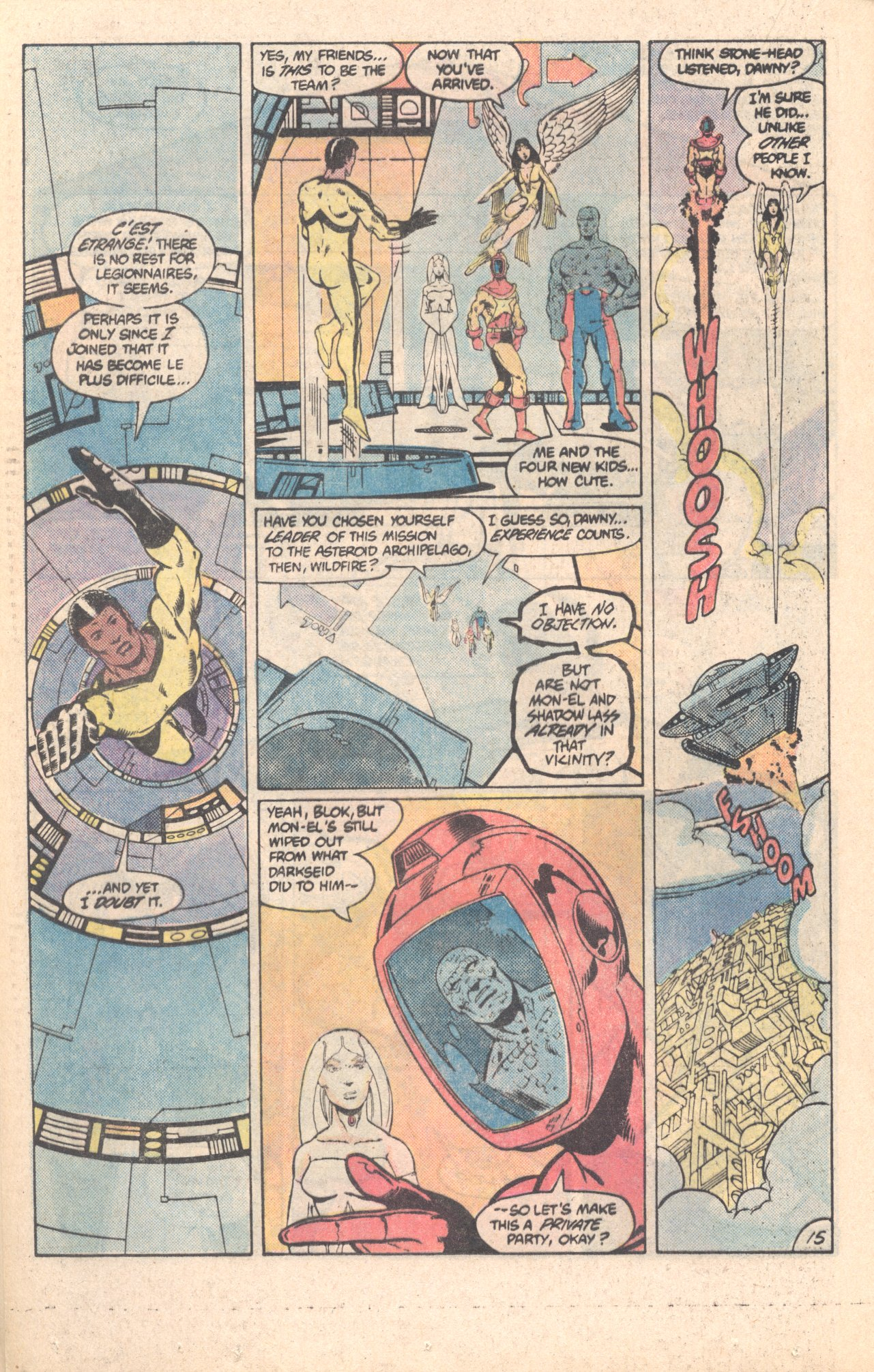 Legion of Super-Heroes (1980) 296 Page 15