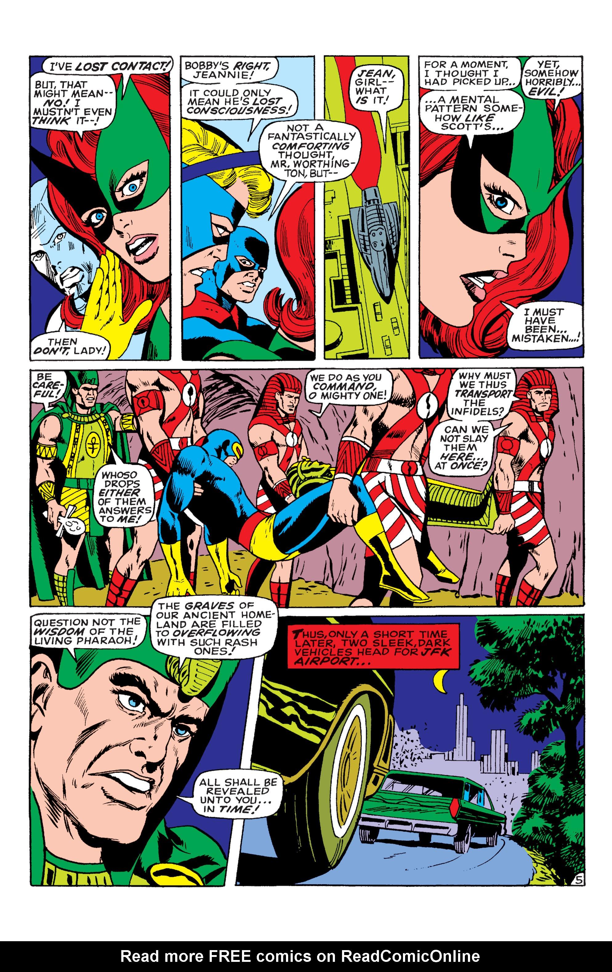 Uncanny X-Men (1963) 55 Page 5