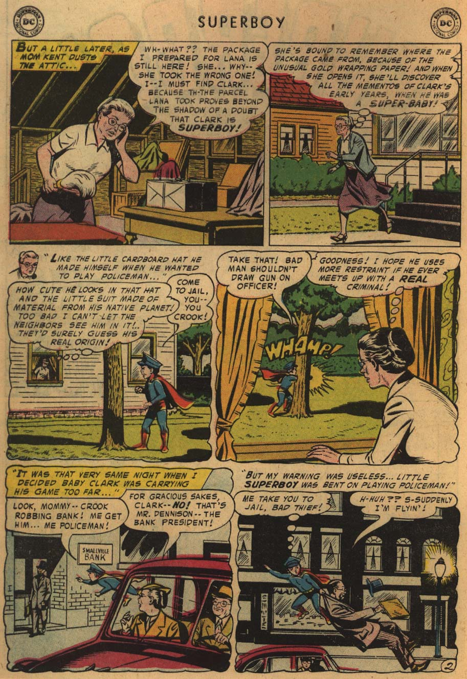 Superboy (1949) issue 51 - Page 3