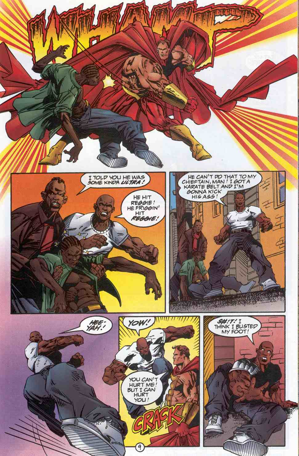 Read online Ultraverse Premiere comic -  Issue #3 - 11