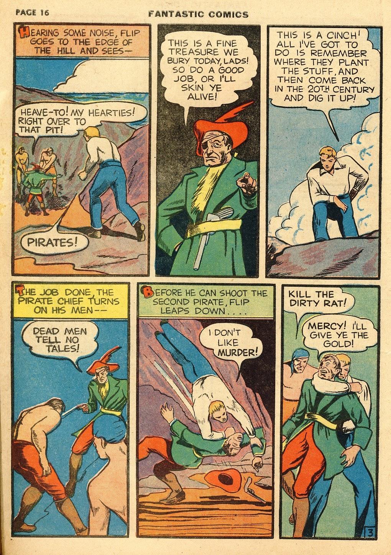 Read online Fantastic Comics comic -  Issue #10 - 17