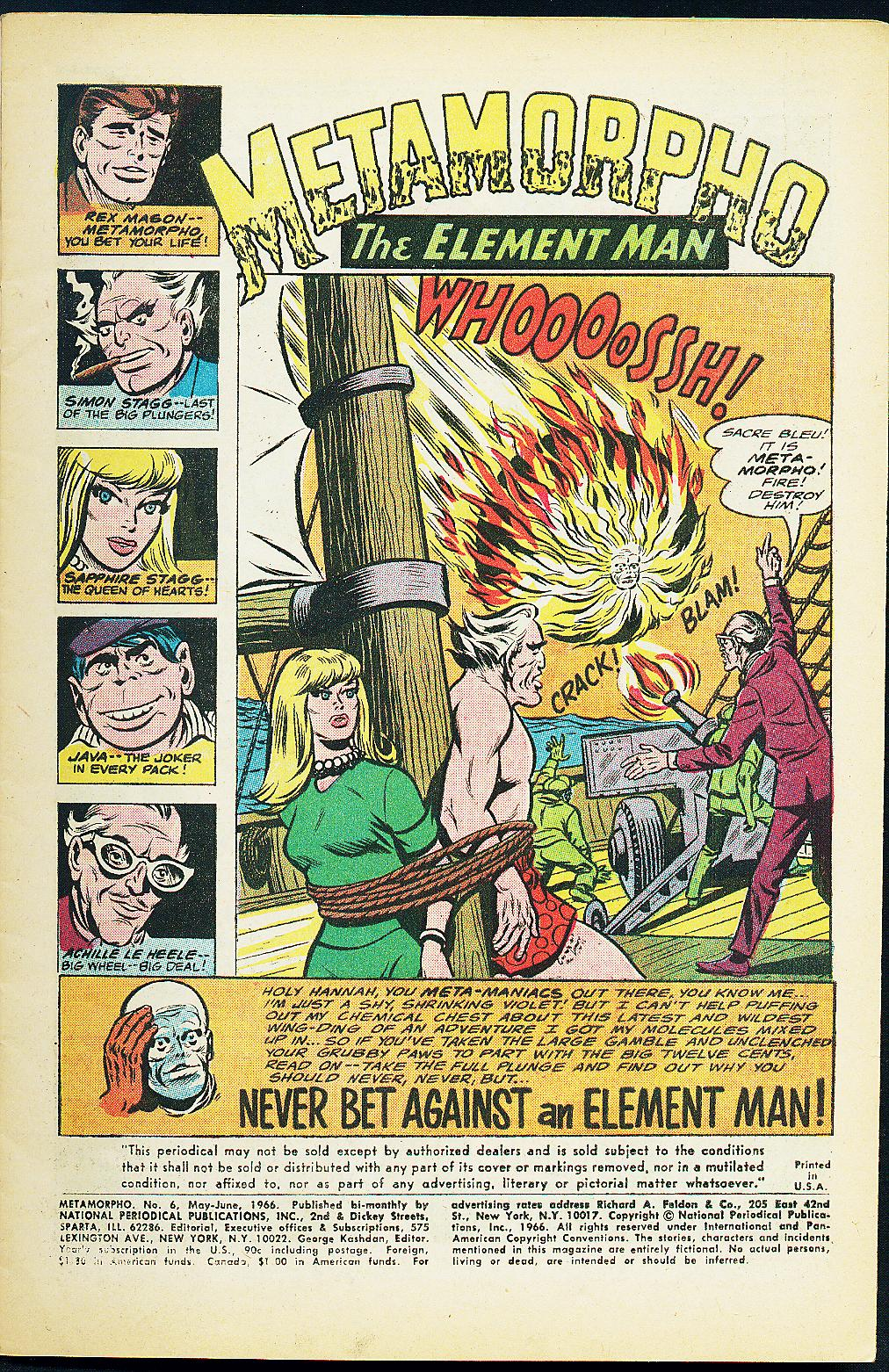 Metamorpho (1965) issue 6 - Page 3