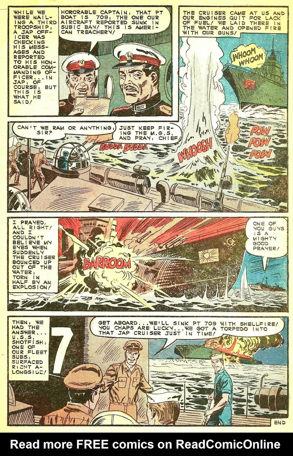 Read online Fightin' Navy comic -  Issue #124 - 32