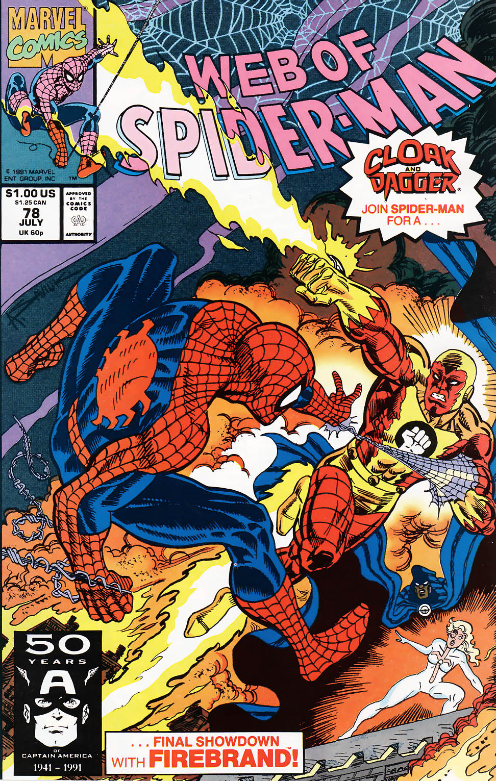 Web of Spider-Man (1985) 78 Page 1