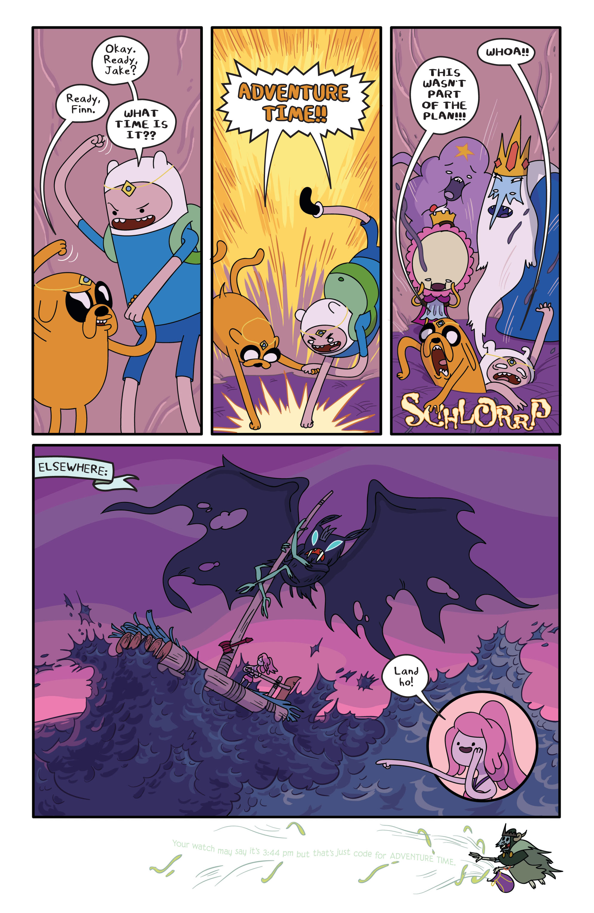 Read online Adventure Time comic -  Issue #2 - 19