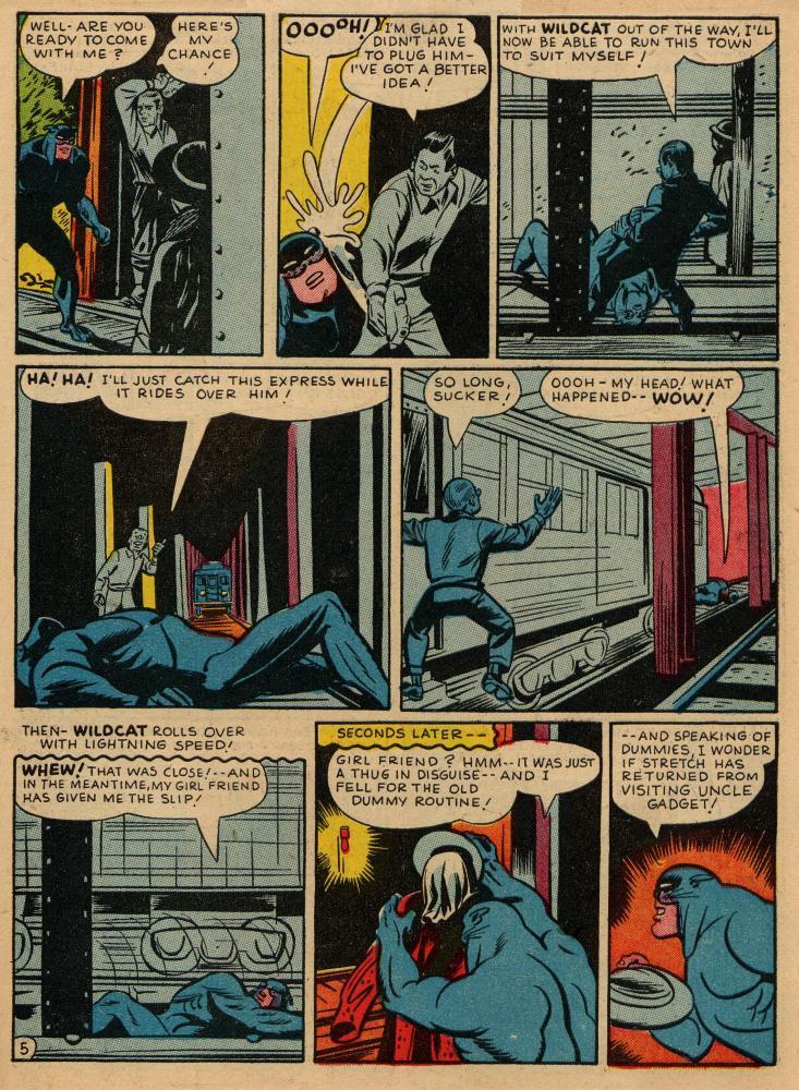 Read online Sensation (Mystery) Comics comic -  Issue #36 - 45