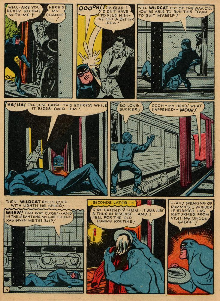 Sensation (Mystery) Comics issue 36 - Page 45