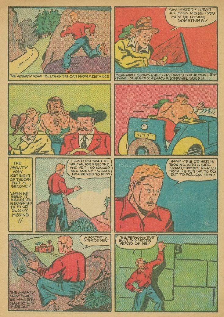 Read online Amazing Man Comics comic -  Issue #9 - 55