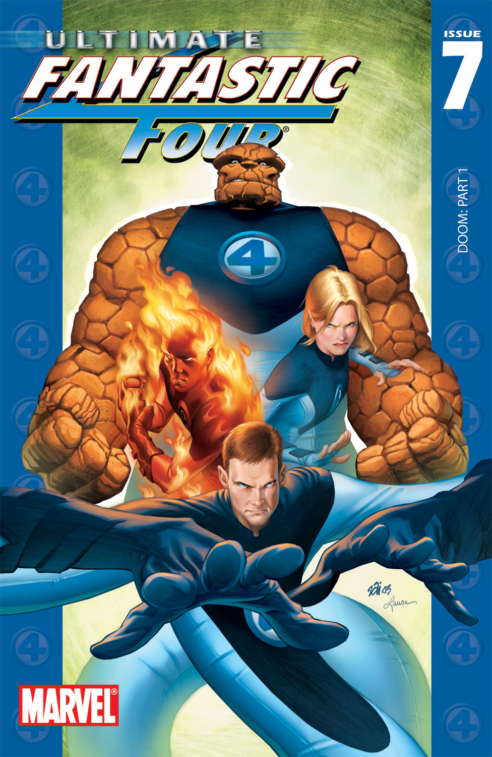 Read online Ultimate Fantastic Four (2004) comic -  Issue #7 - 1