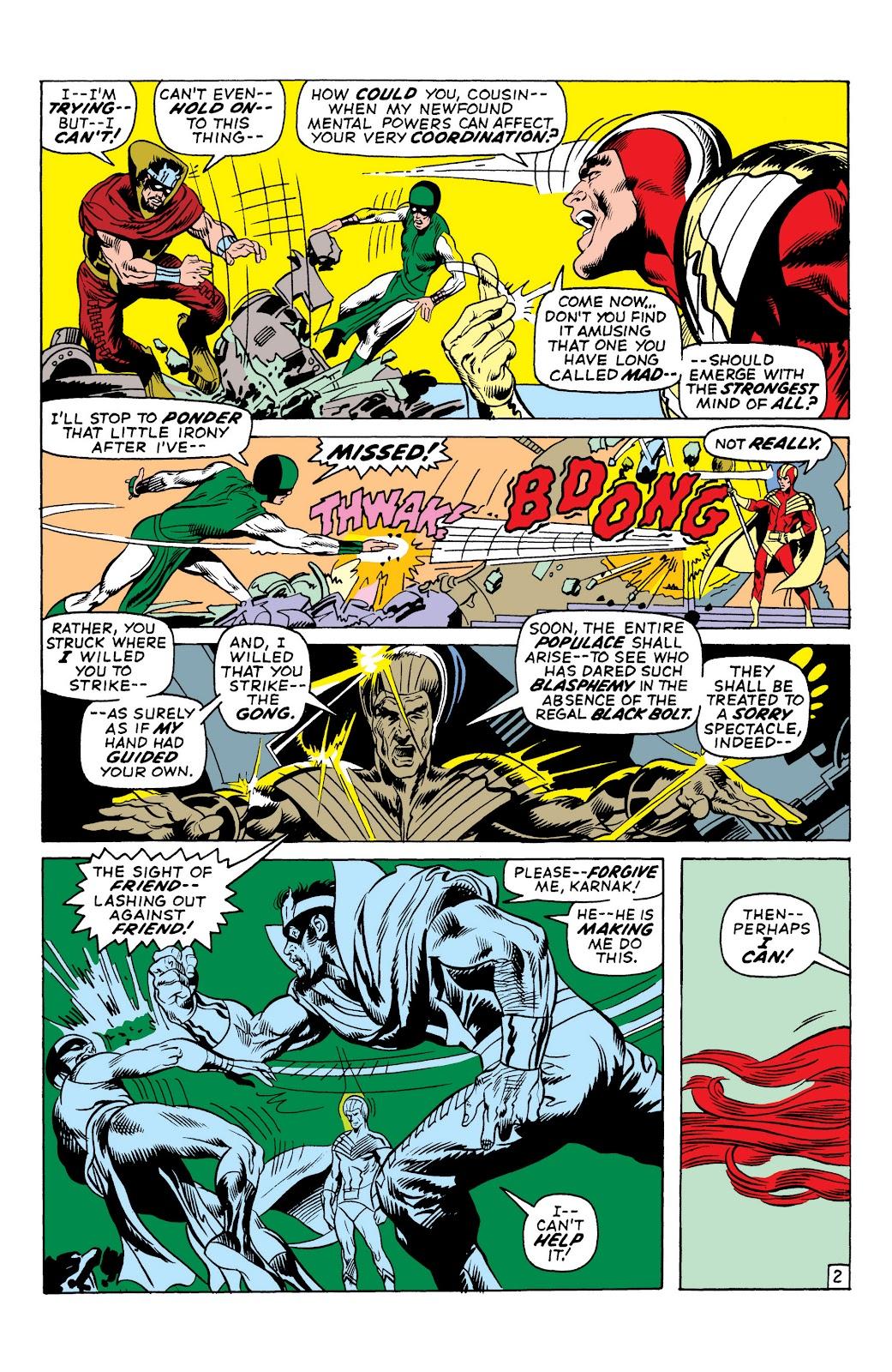 Read online Marvel Masterworks: The Inhumans comic -  Issue # TPB 1 (Part 2) - 26