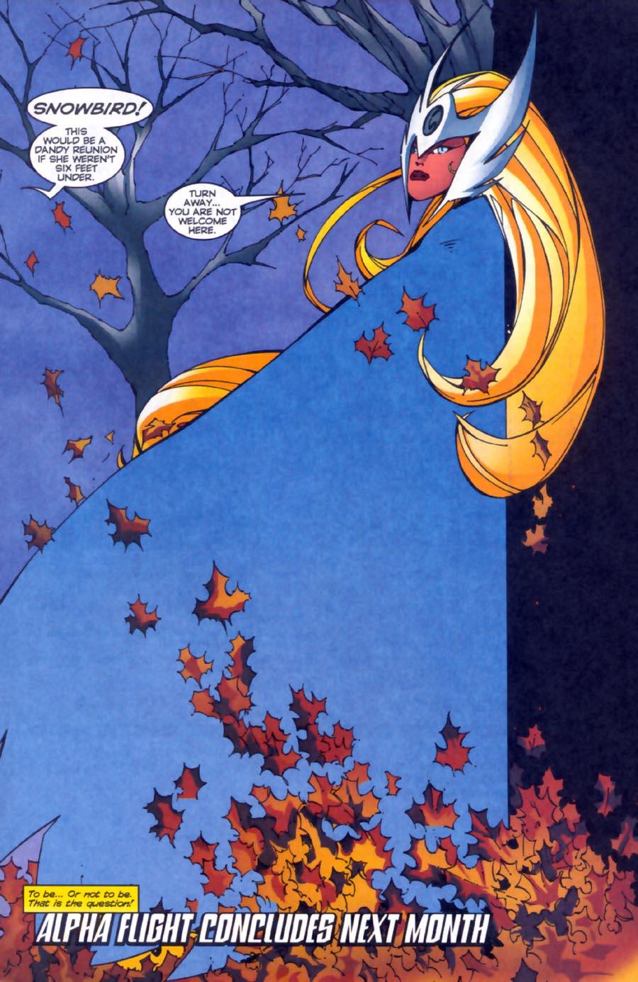 Read online Alpha Flight (1997) comic -  Issue #19 - 23
