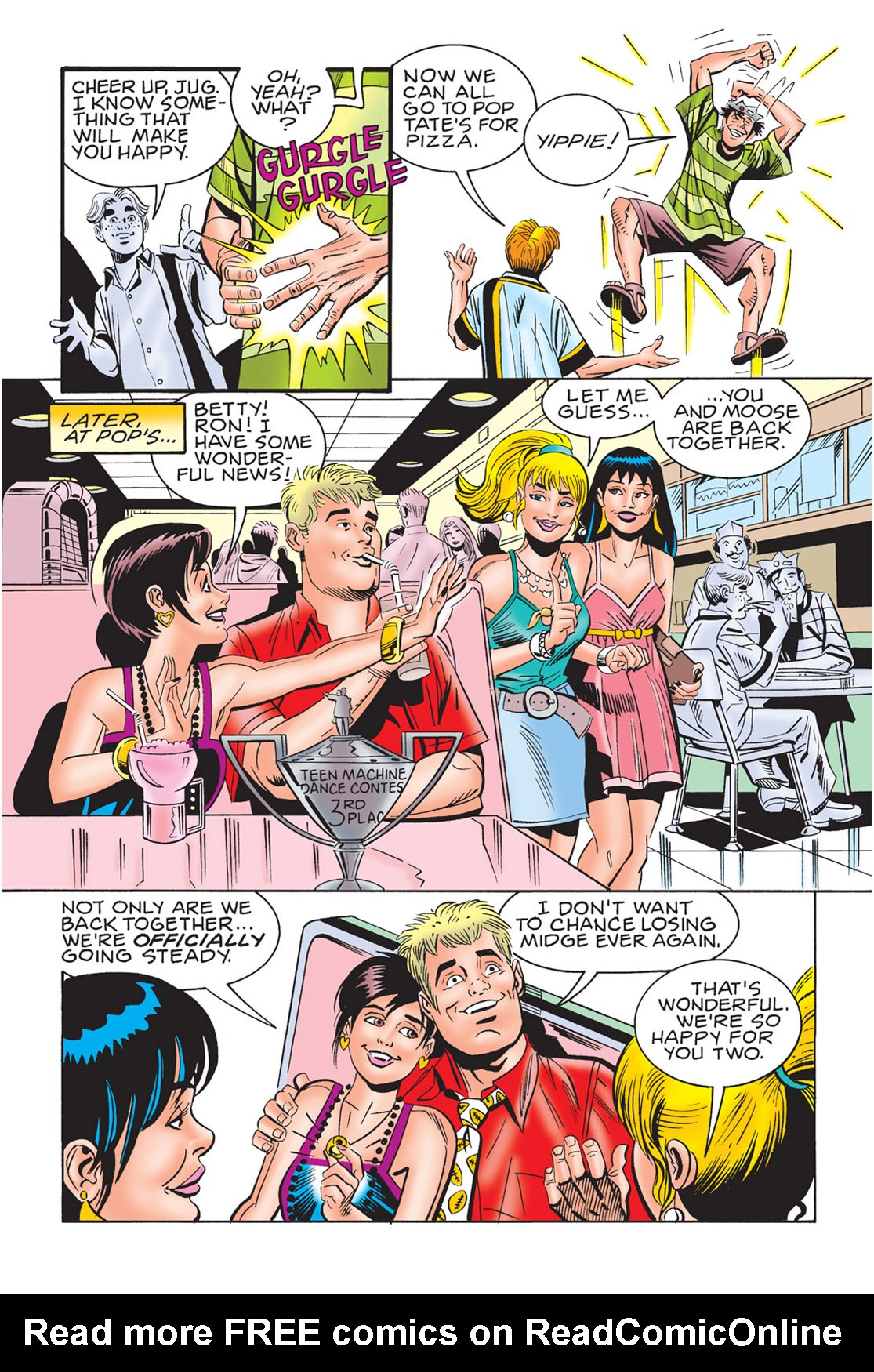 Read online Archie's New Look Series comic -  Issue #3 - 111