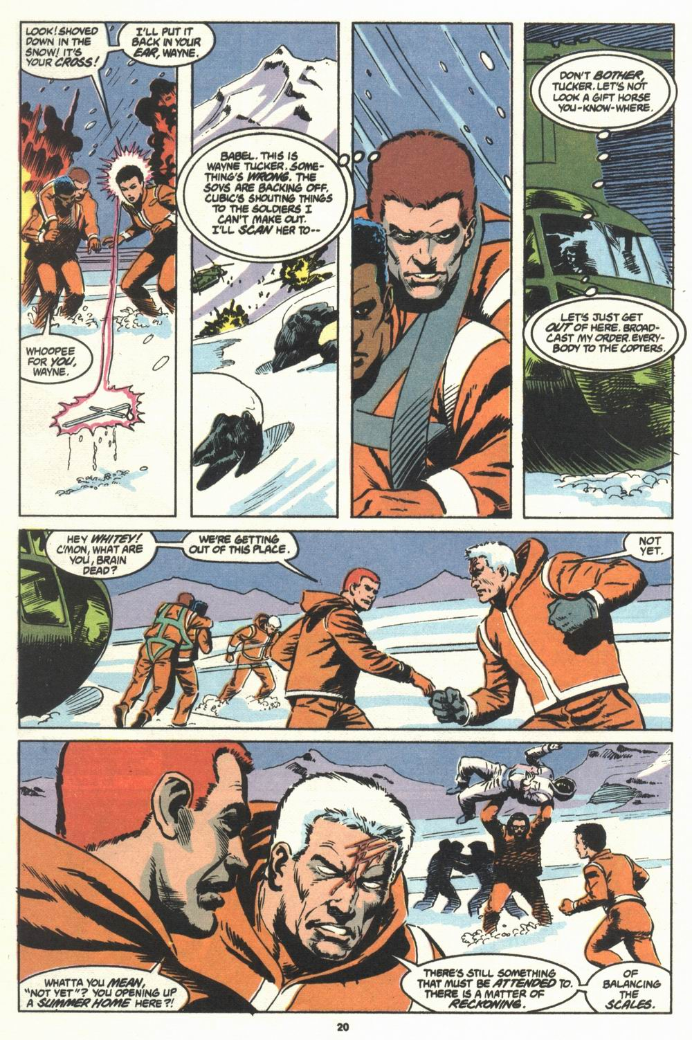 Read online Justice (1986) comic -  Issue #29 - 21