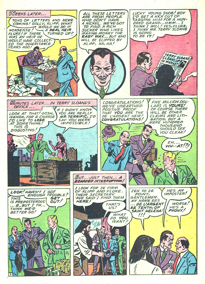 Read online Sensation (Mystery) Comics comic -  Issue #17 - 38