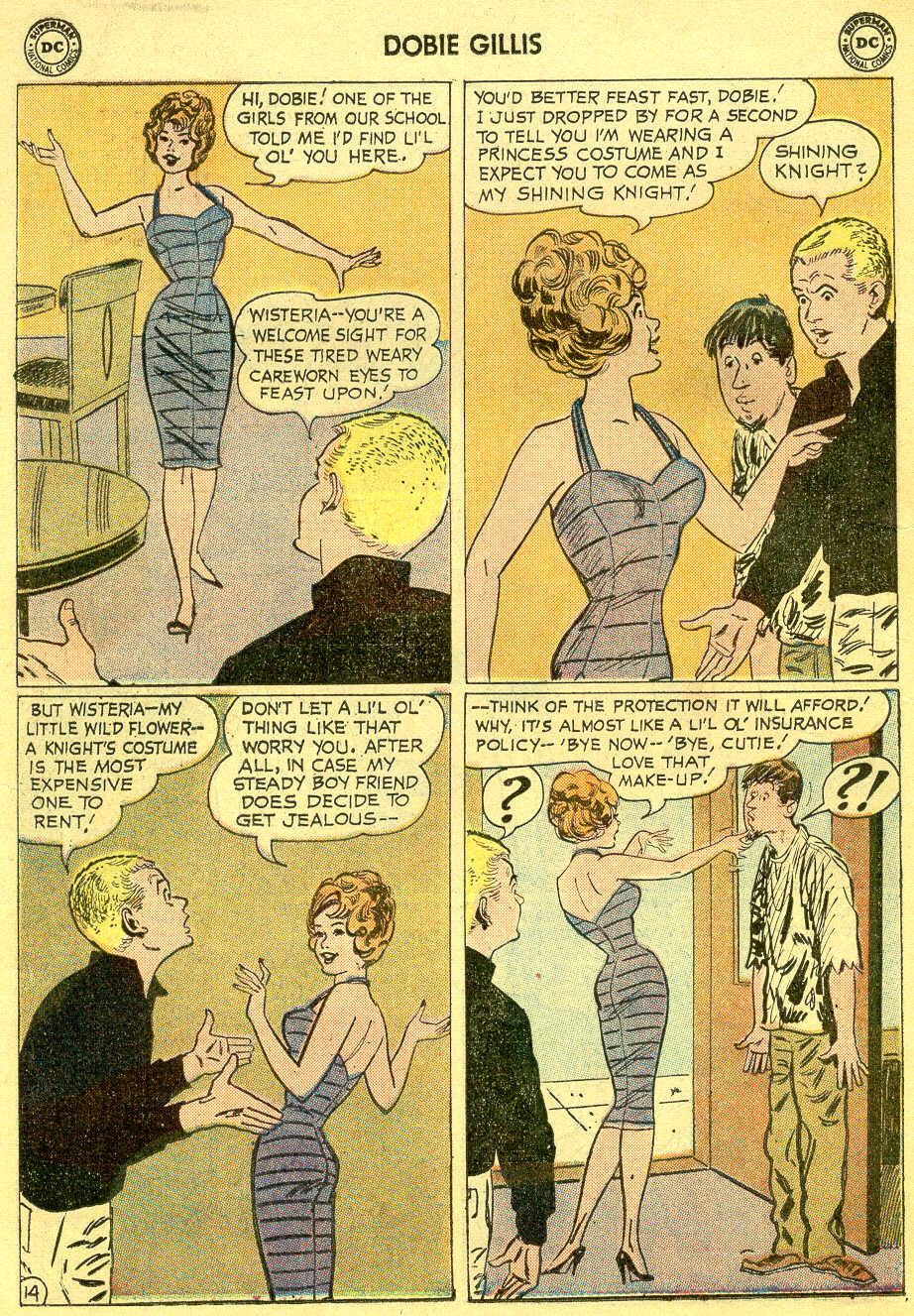Many Loves of Dobie Gillis issue 4 - Page 18