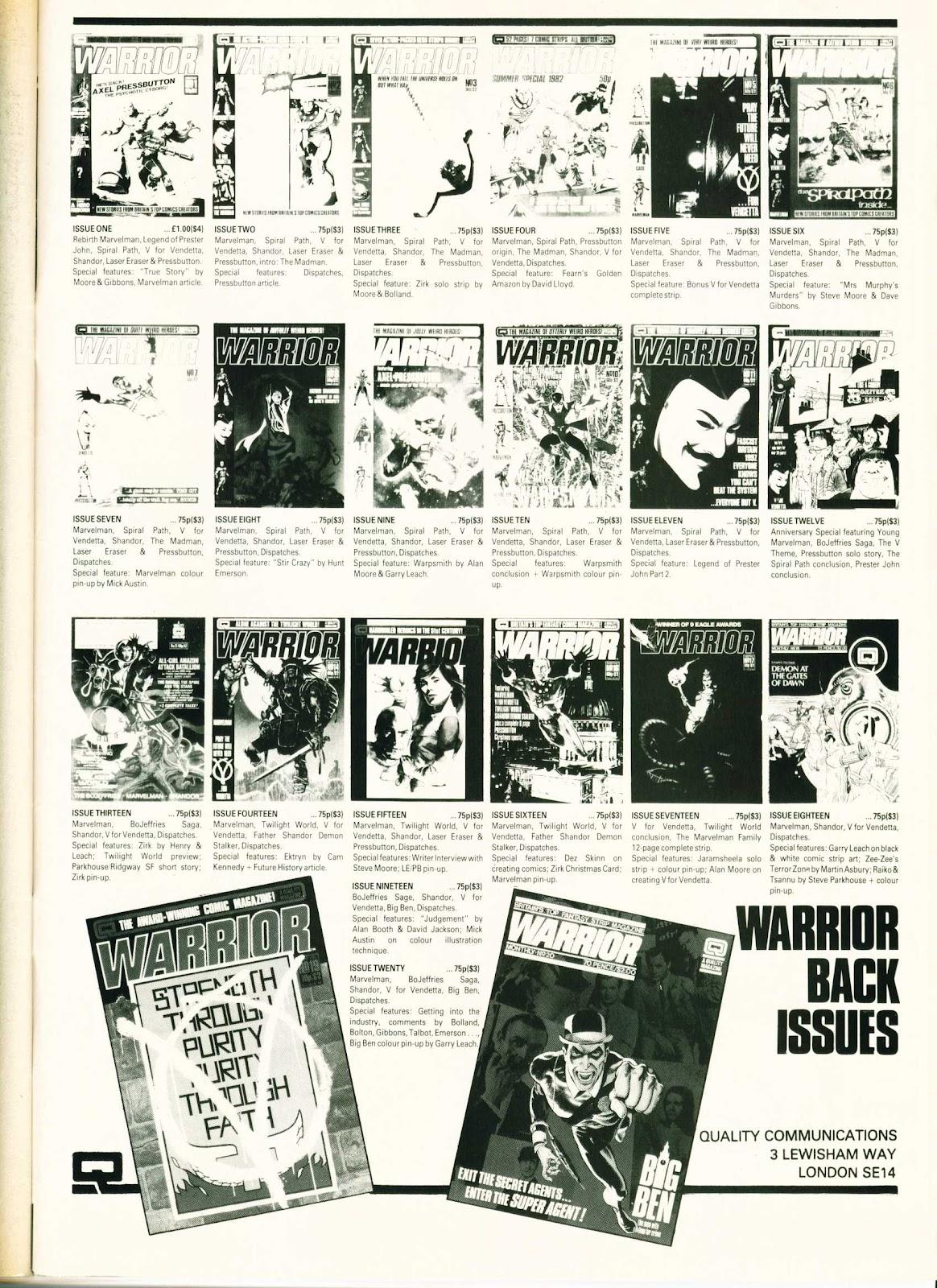 Warrior Issue #23 #24 - English 51