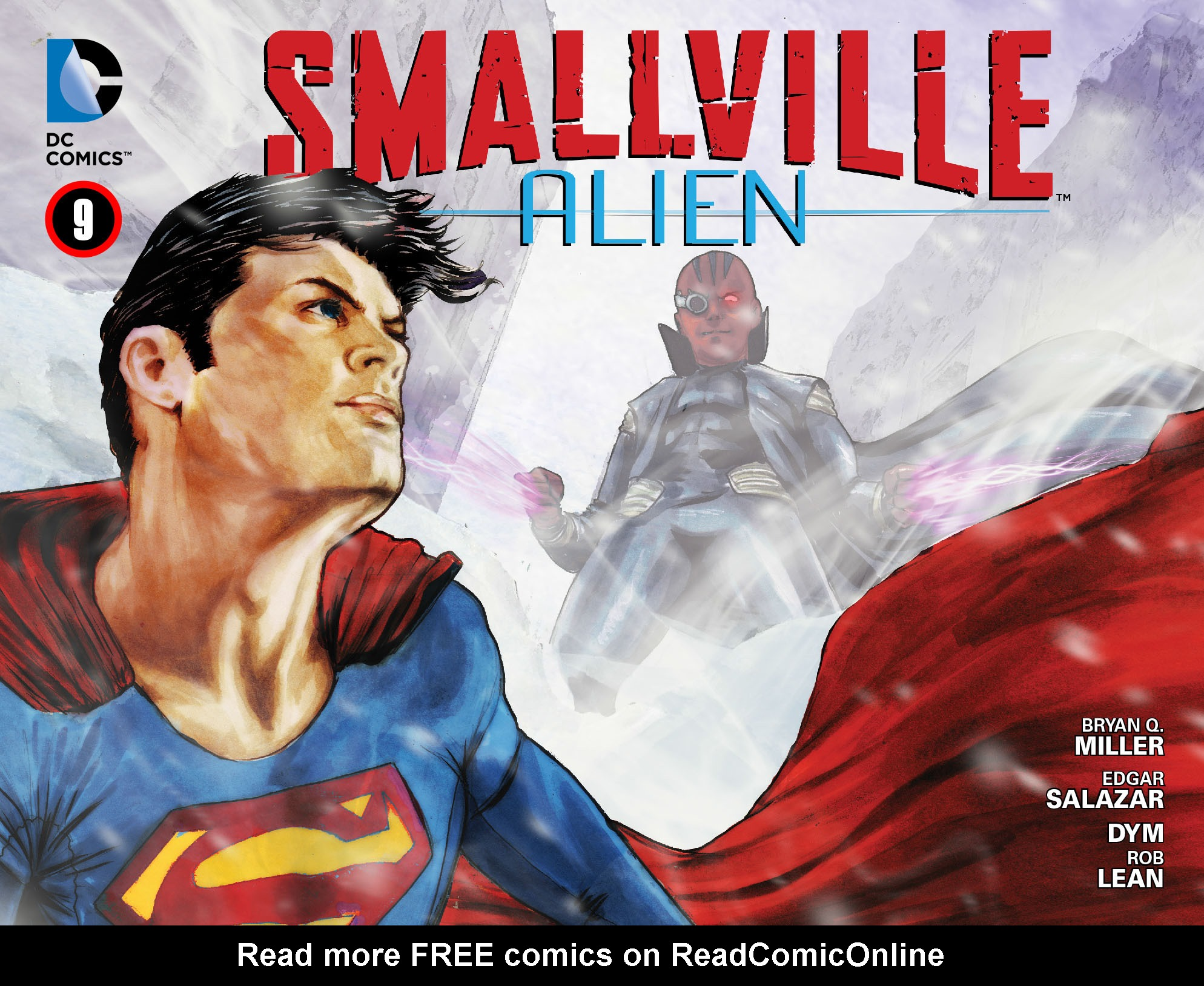 Read online Smallville: Alien comic -  Issue #9 - 1