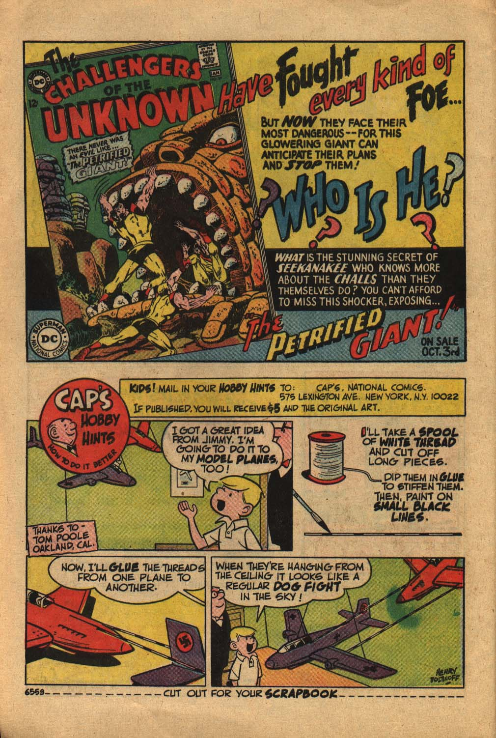 Read online Adventure Comics (1938) comic -  Issue #362 - 8