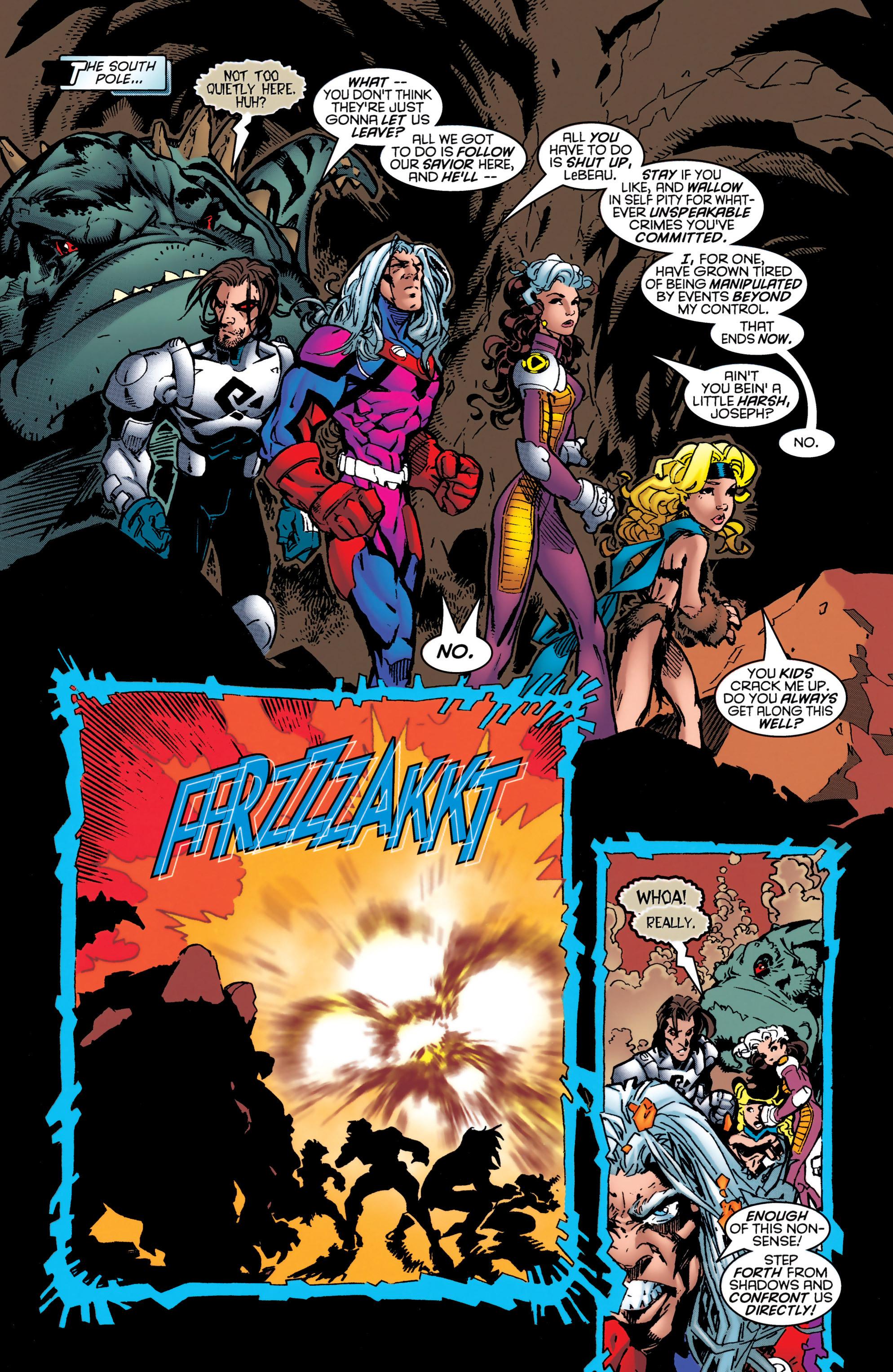 Read online Uncanny X-Men (1963) comic -  Issue #349 - 18