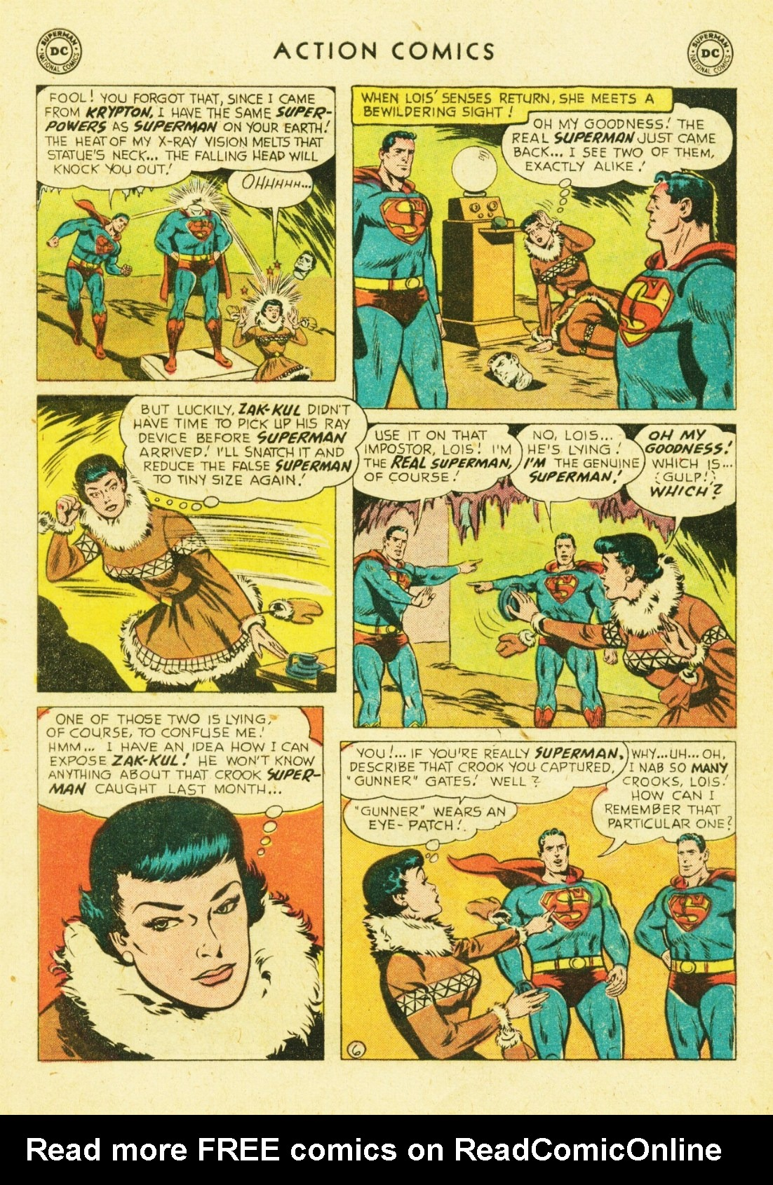 Read online Action Comics (1938) comic -  Issue #245 - 8