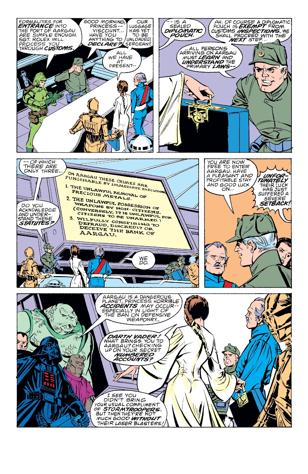 Read online Star Wars Legends: The Original Marvel Years - Epic Collection comic -  Issue # TPB 3 (Part 2) - 85