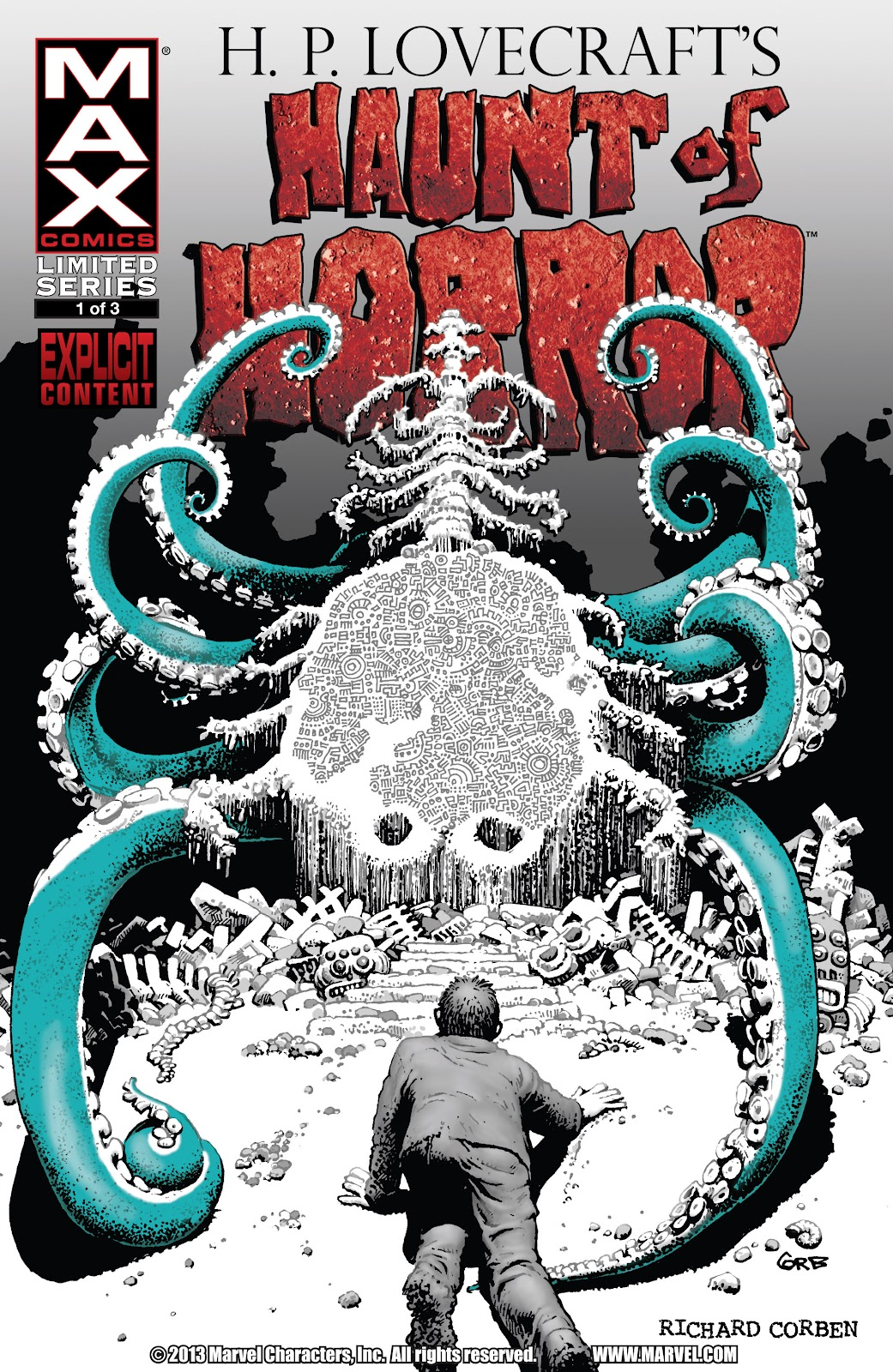 Haunt of Horror: Lovecraft issue 1 - Page 1