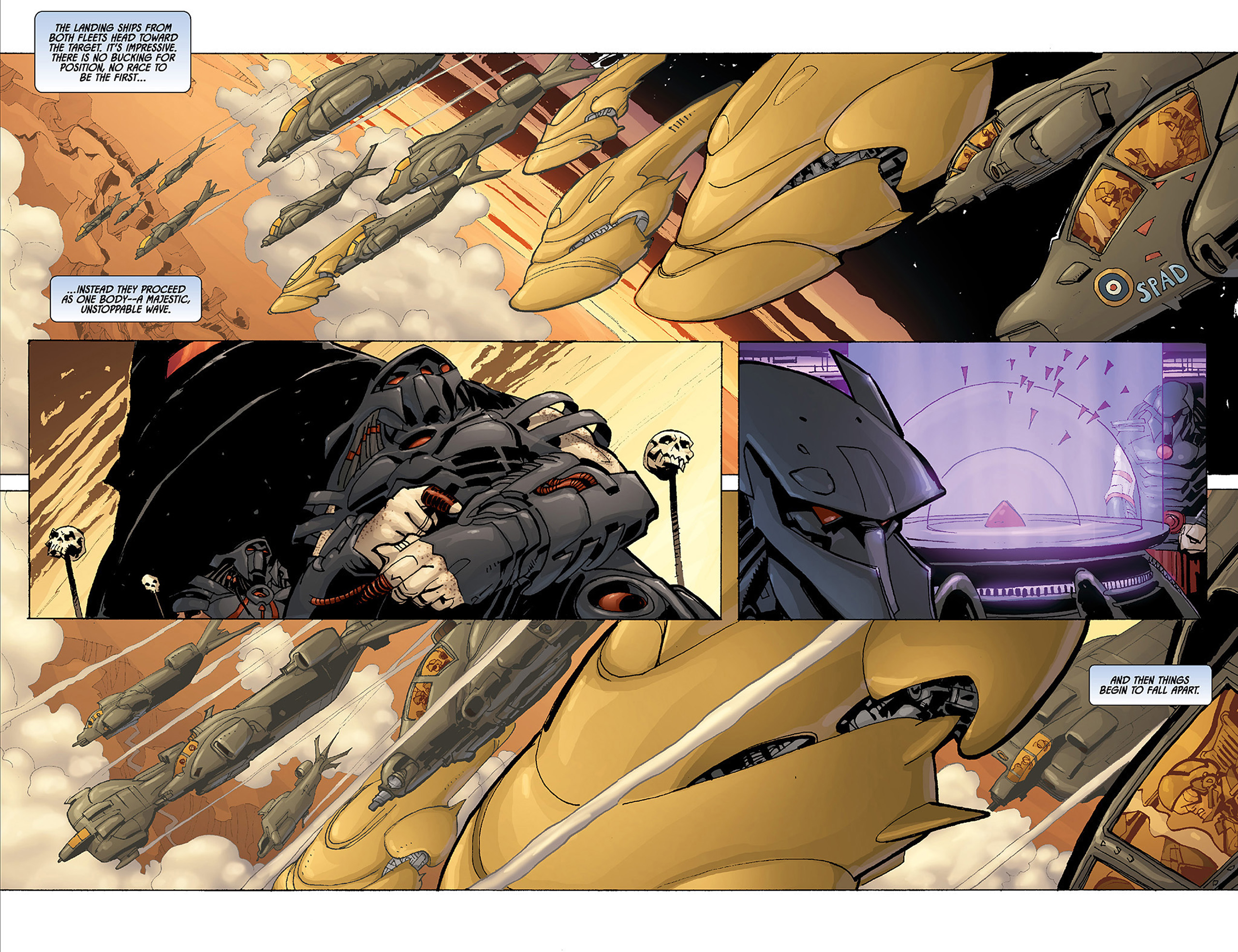 Read online Aliens vs. Predator: Three World War comic -  Issue #4 - 6