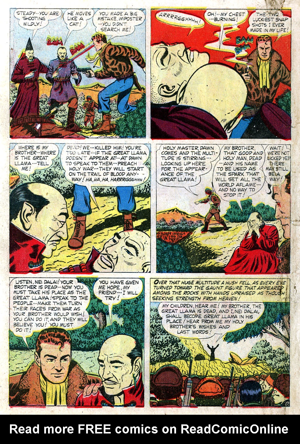 Kent Blake of the Secret Service issue 3 - Page 8