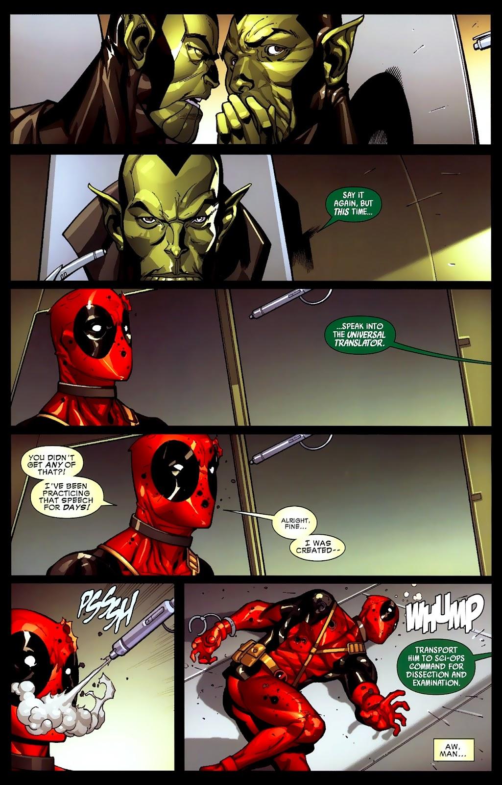 Read online Deadpool (2008) comic -  Issue #2 - 7