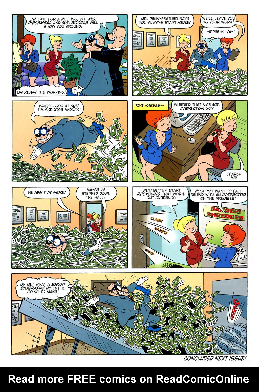 Read online Uncle Scrooge (1953) comic -  Issue #321 - 62