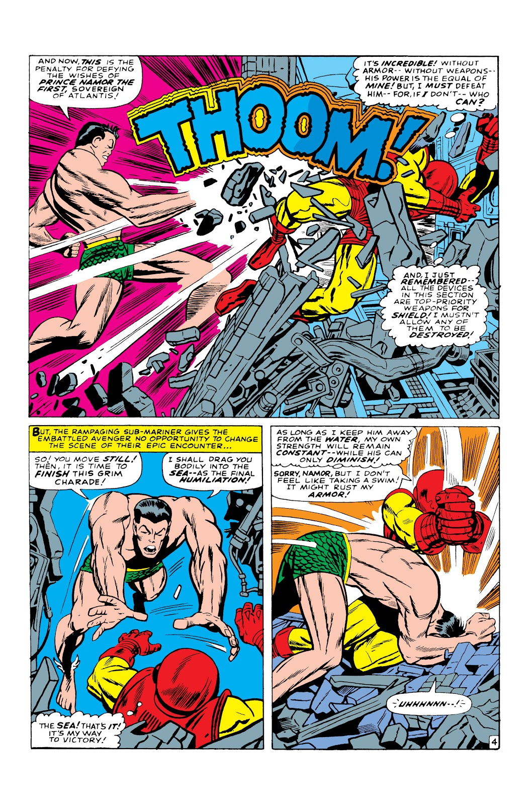 Read online Marvel Masterworks: The Invincible Iron Man comic -  Issue # TPB 3 (Part 5) - 21