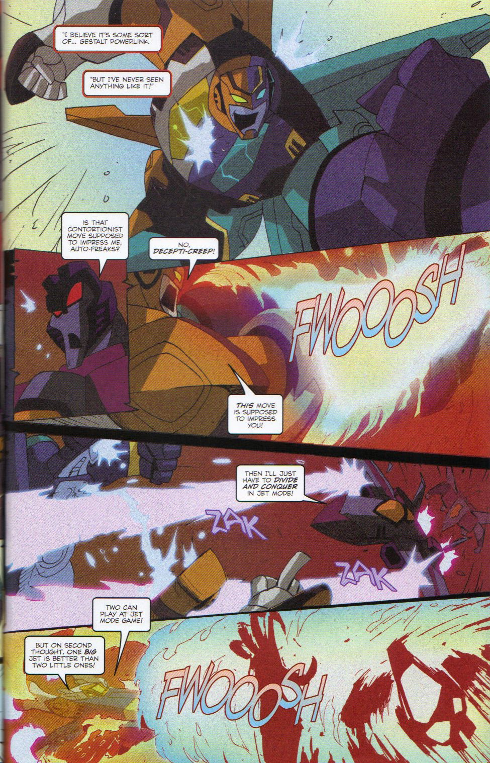 Read online Transformers Animated: The Arrival comic -  Issue #6 - 25