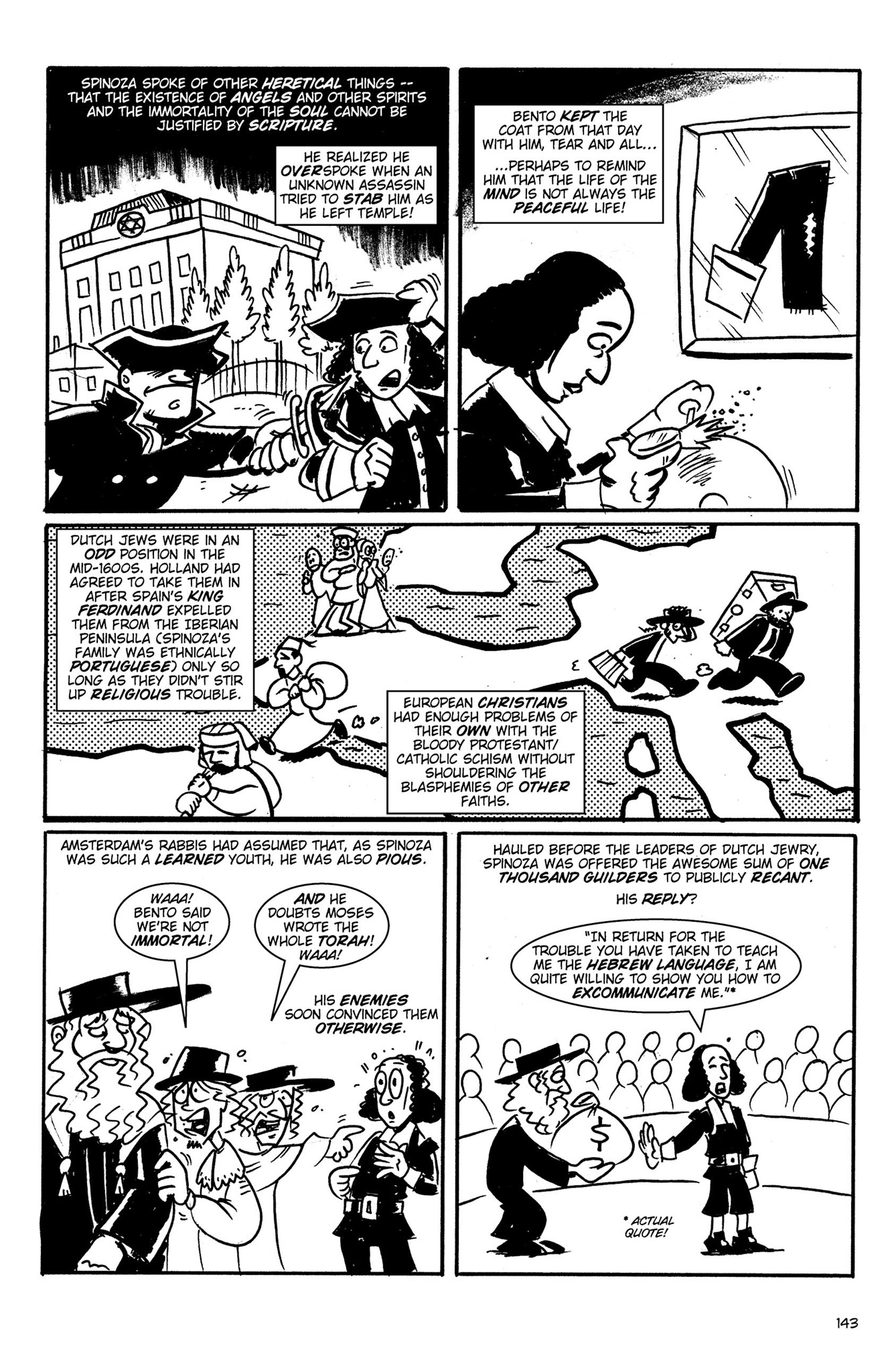 Read online Action Philosophers! comic -  Issue #Action Philosophers! TPB (Part 1) - 141