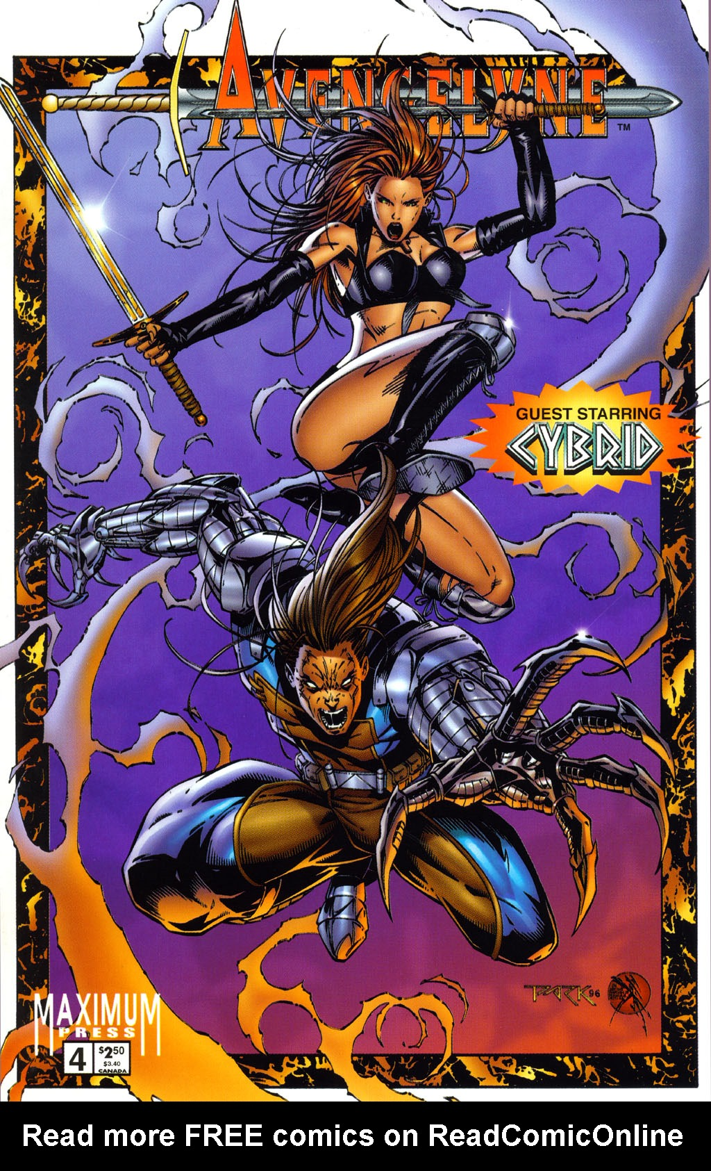 Read online Avengelyne (1996) comic -  Issue #4 - 1