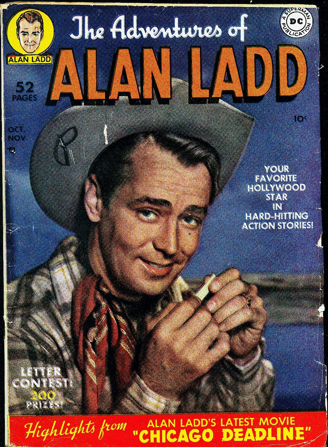 Adventures of Alan Ladd 1 Page 1