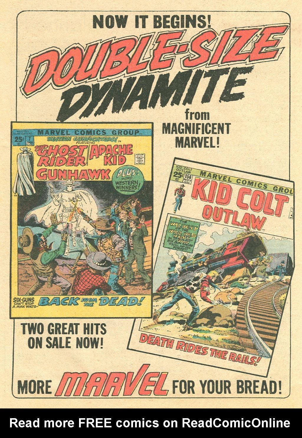 Read online Two-Gun Kid comic -  Issue #101 - 32