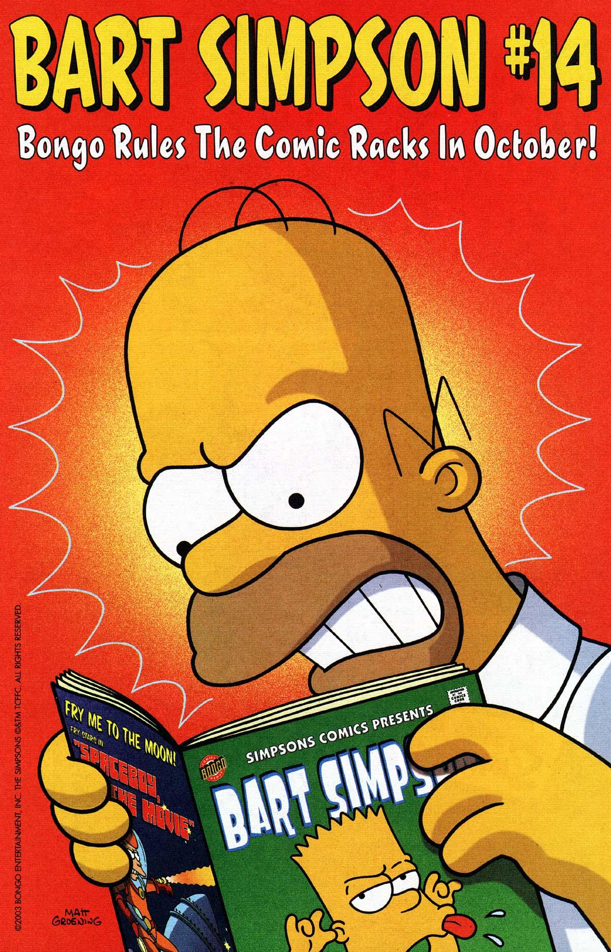 Read online Simpsons Comics Presents Bart Simpson comic -  Issue #13 - 24