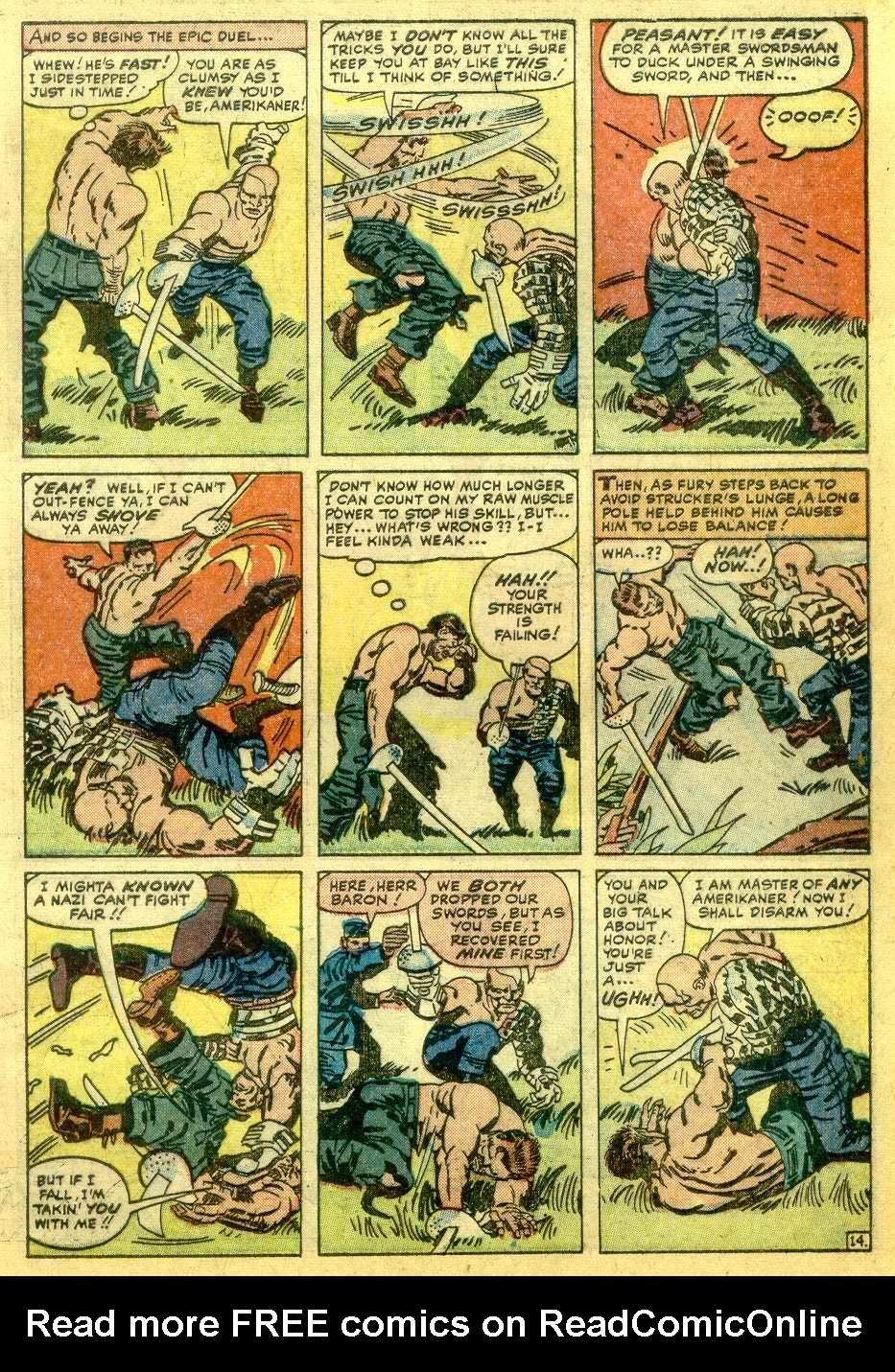Read online Sgt. Fury comic -  Issue # _Annual 1 - 61