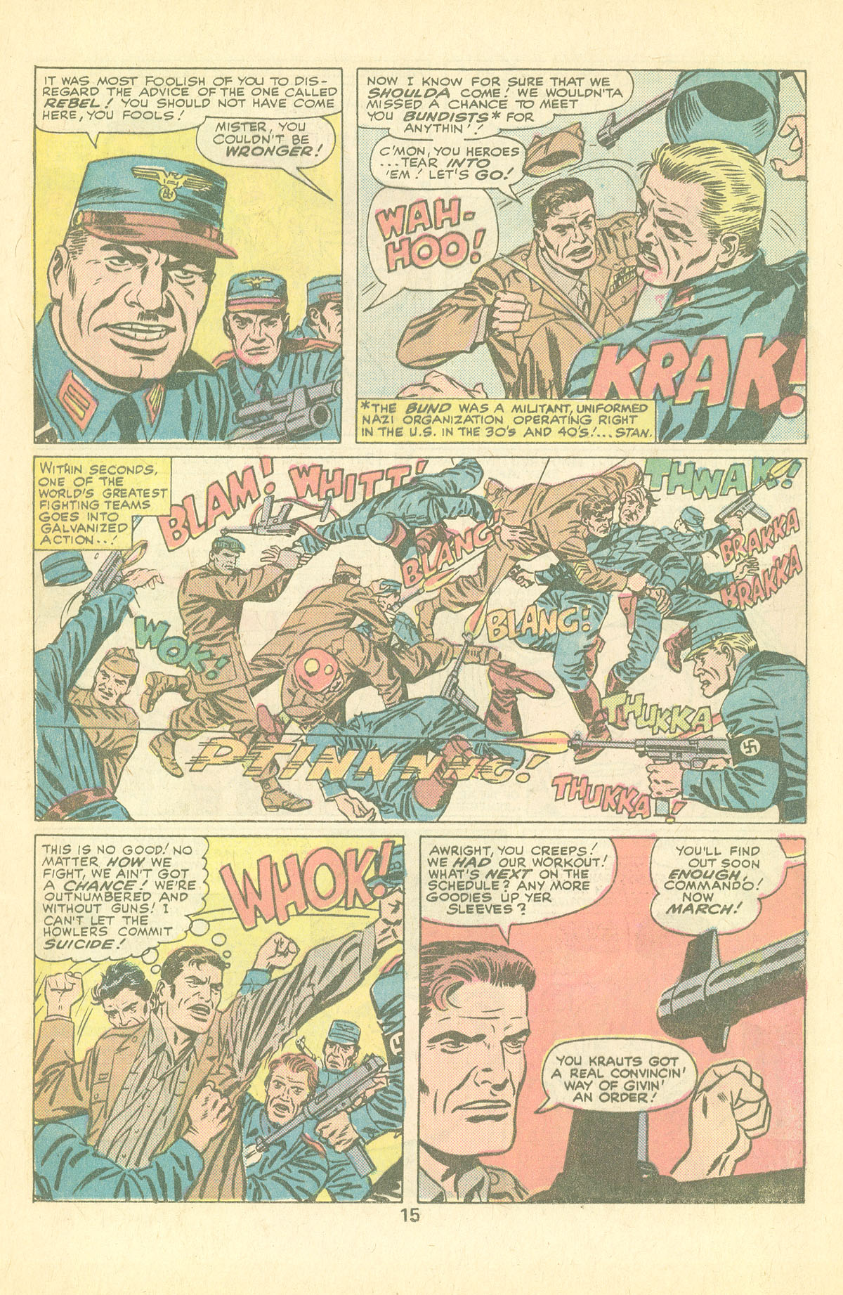 Read online Sgt. Fury comic -  Issue #126 - 17