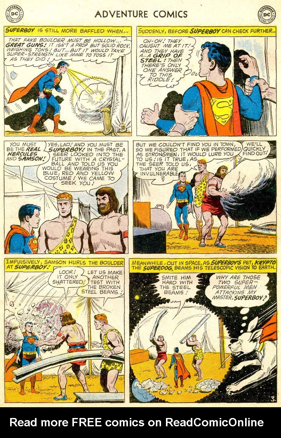Read online Adventure Comics (1938) comic -  Issue #257 - 5