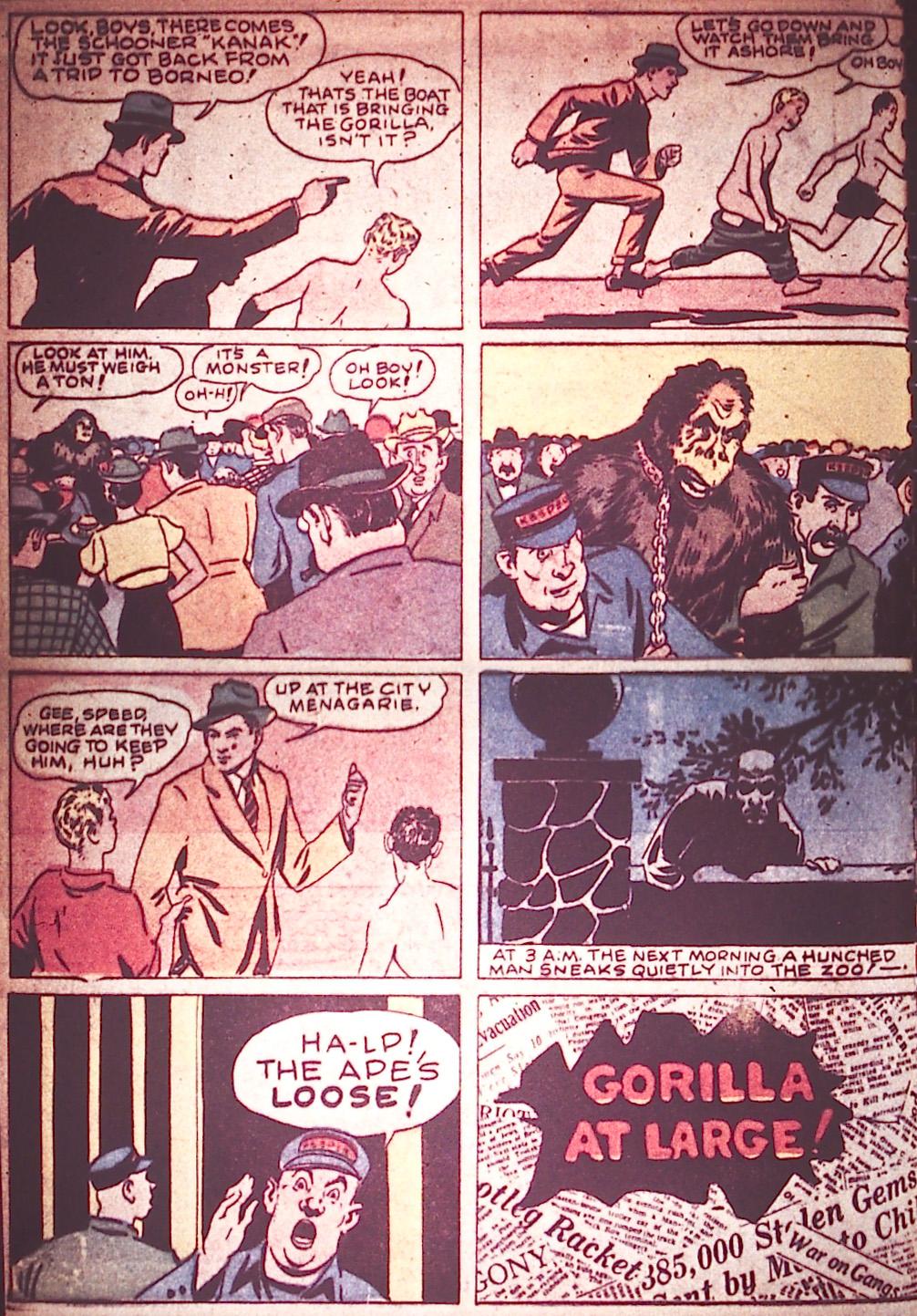 Detective Comics (1937) 6 Page 3