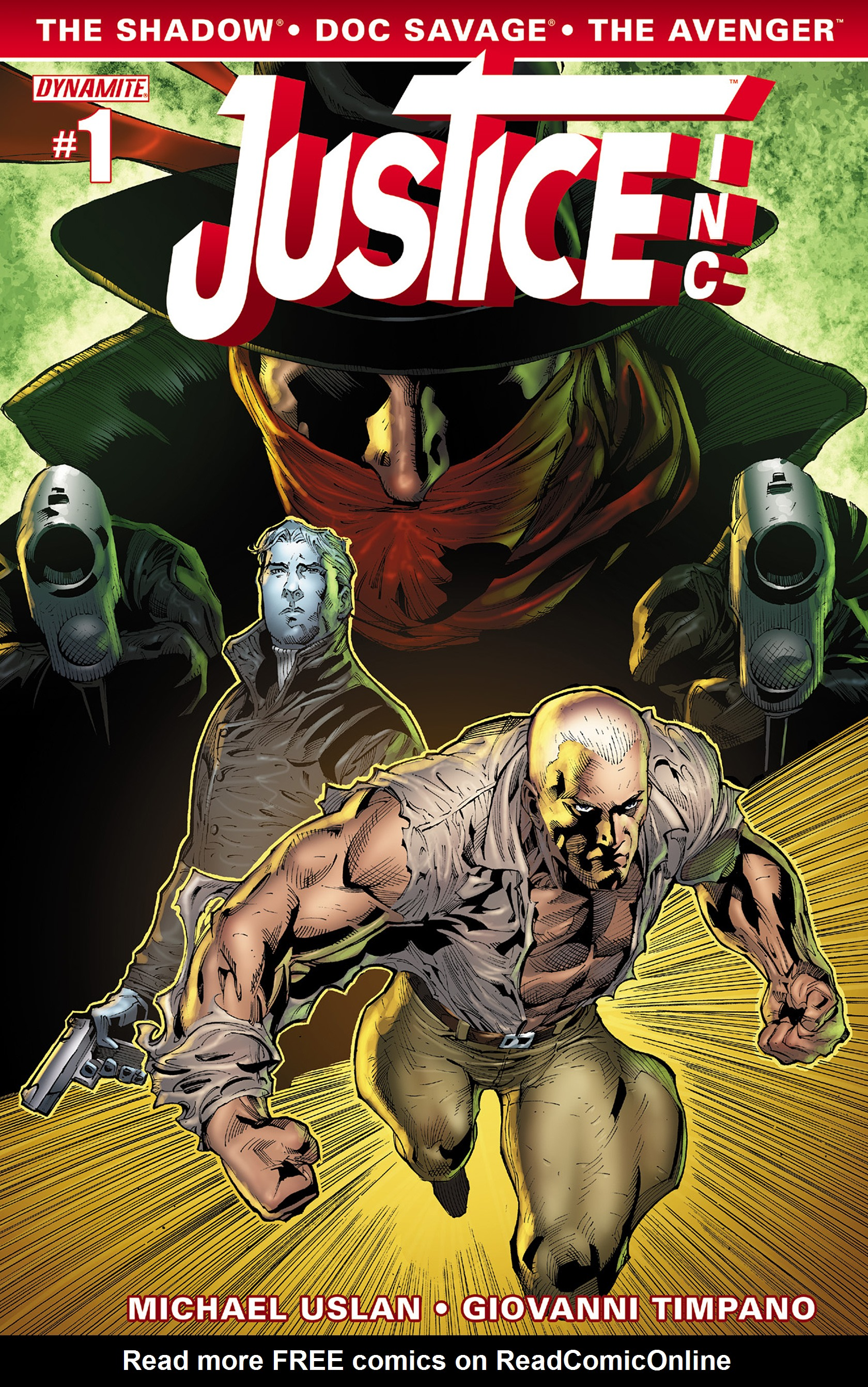 Read online Justice, Inc. comic -  Issue #1 - 4