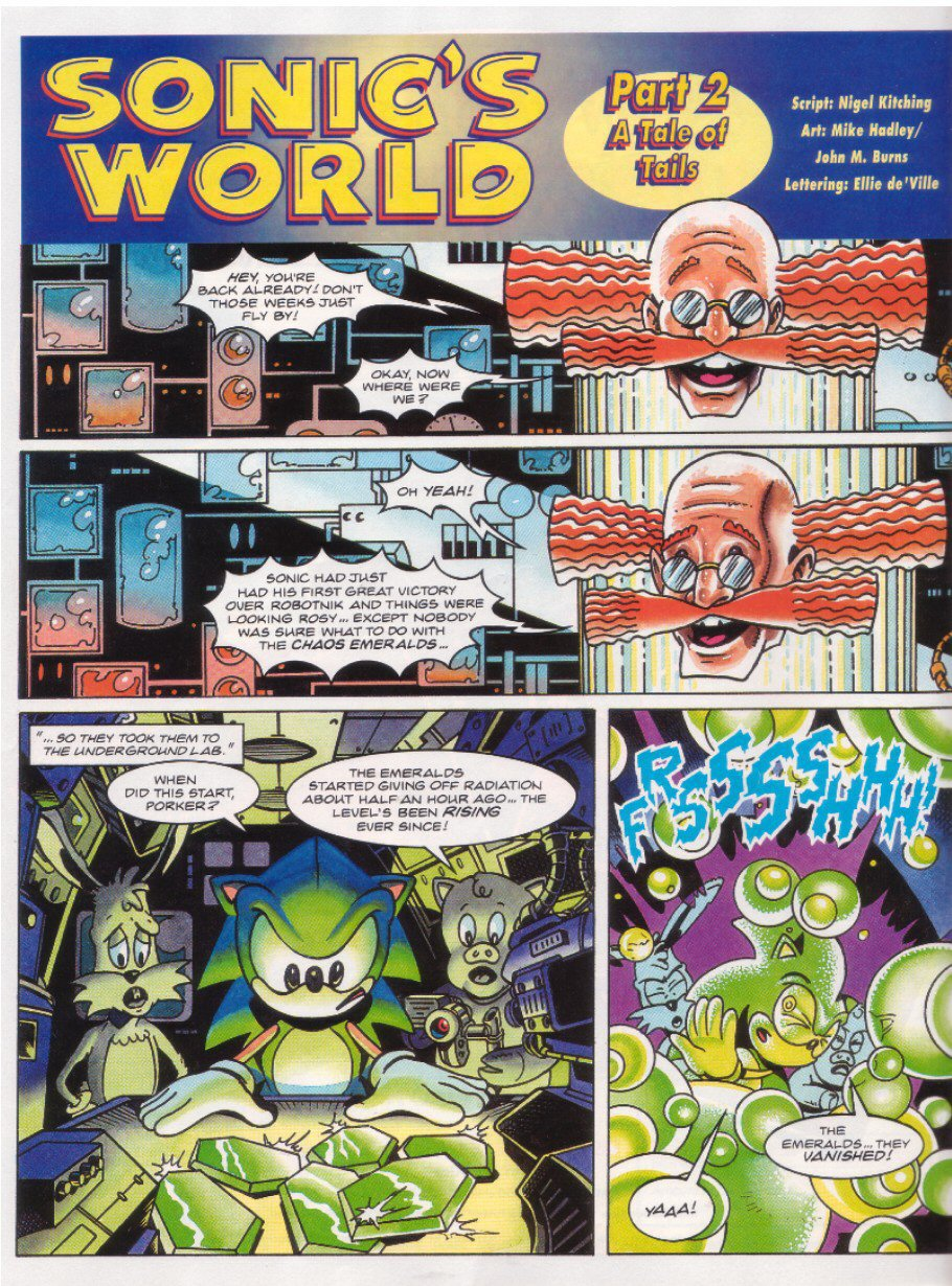 Read online Sonic the Comic comic -  Issue #27 - 19